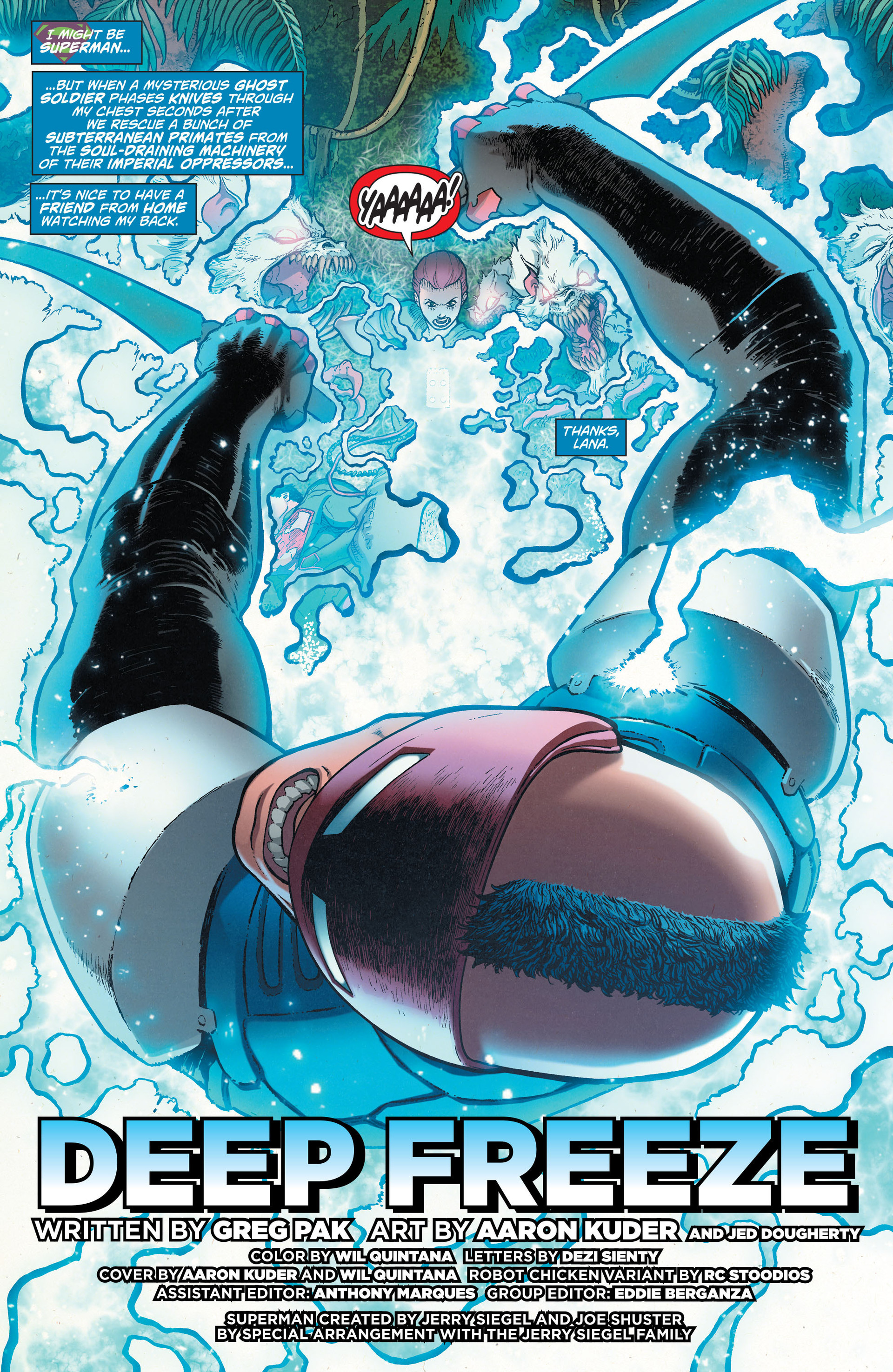Read online Action Comics (2011) comic -  Issue #29 - 2