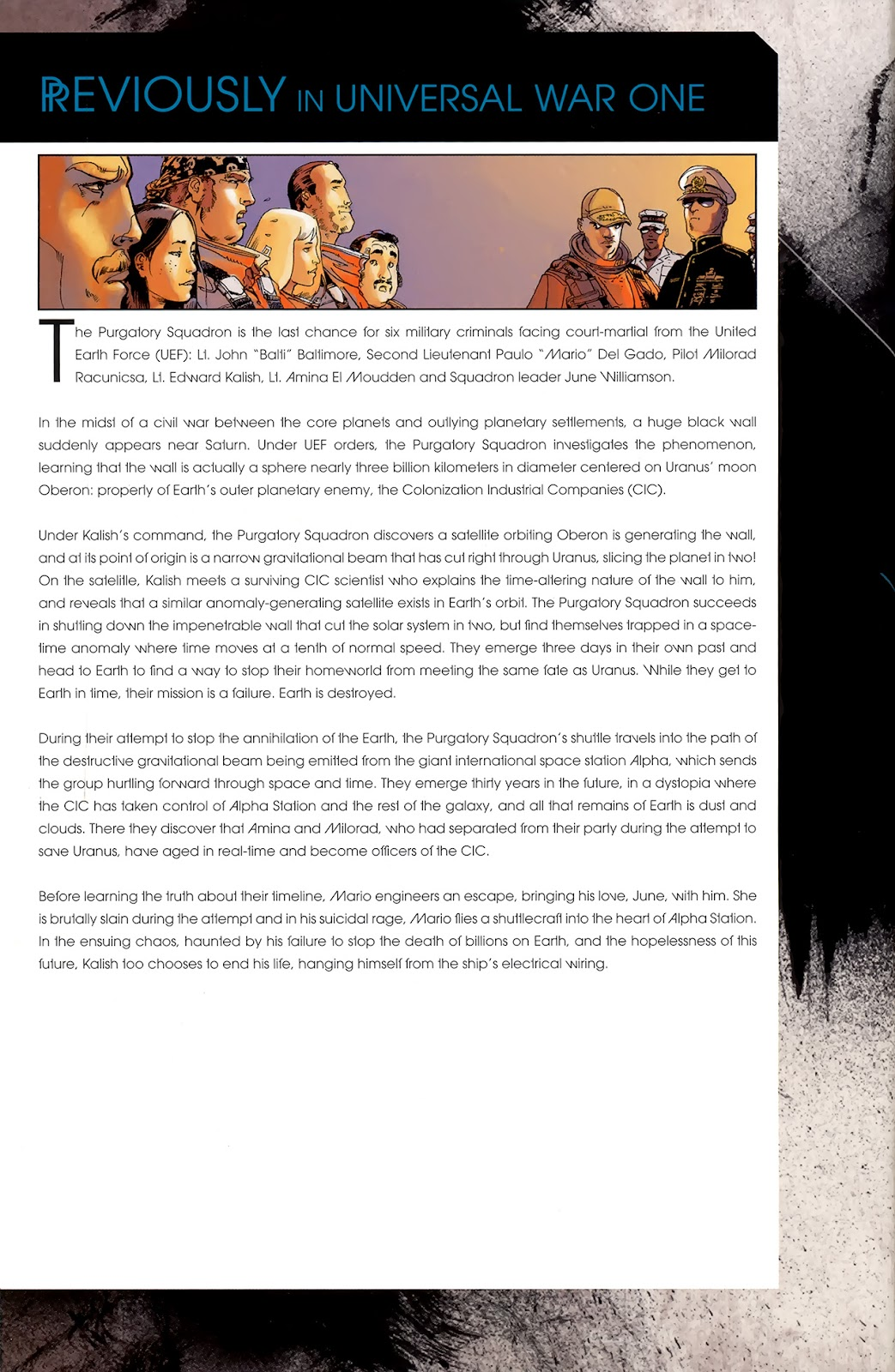 Read online Universal War One: Revelations comic -  Issue #3 - 2