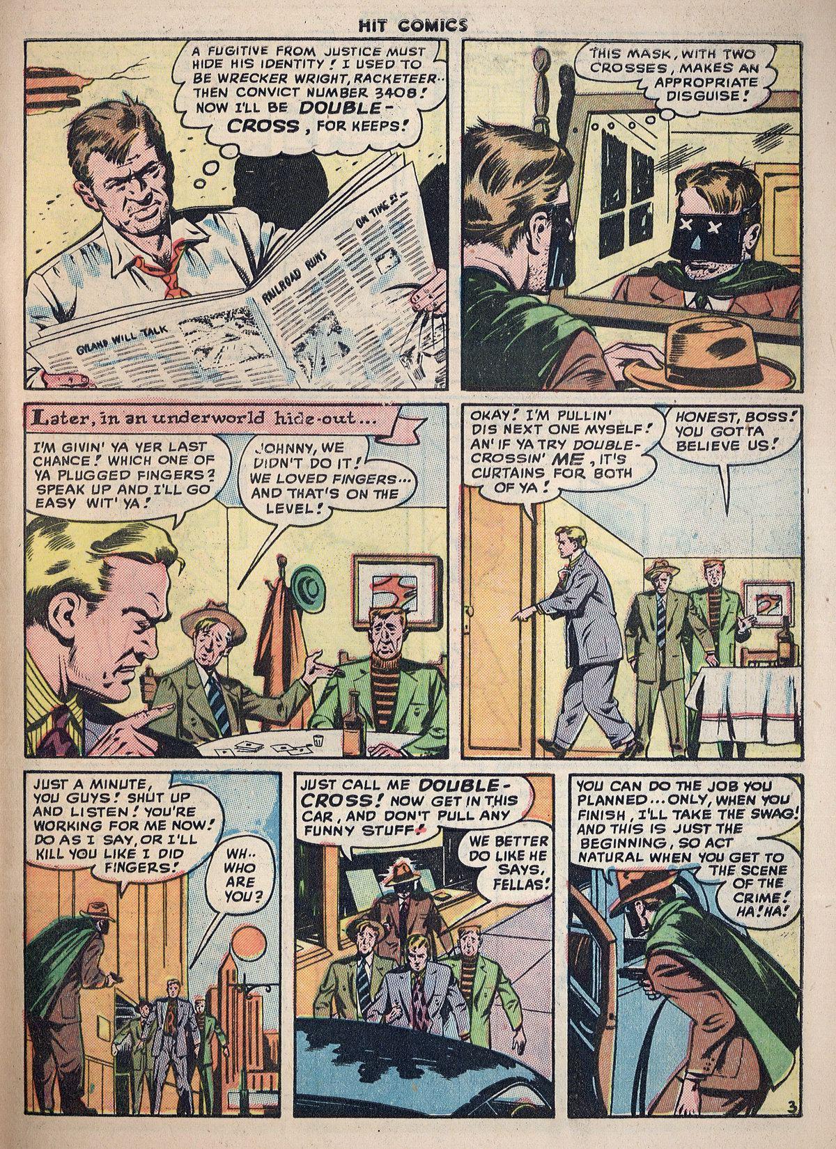 Read online Hit Comics comic -  Issue #55 - 41