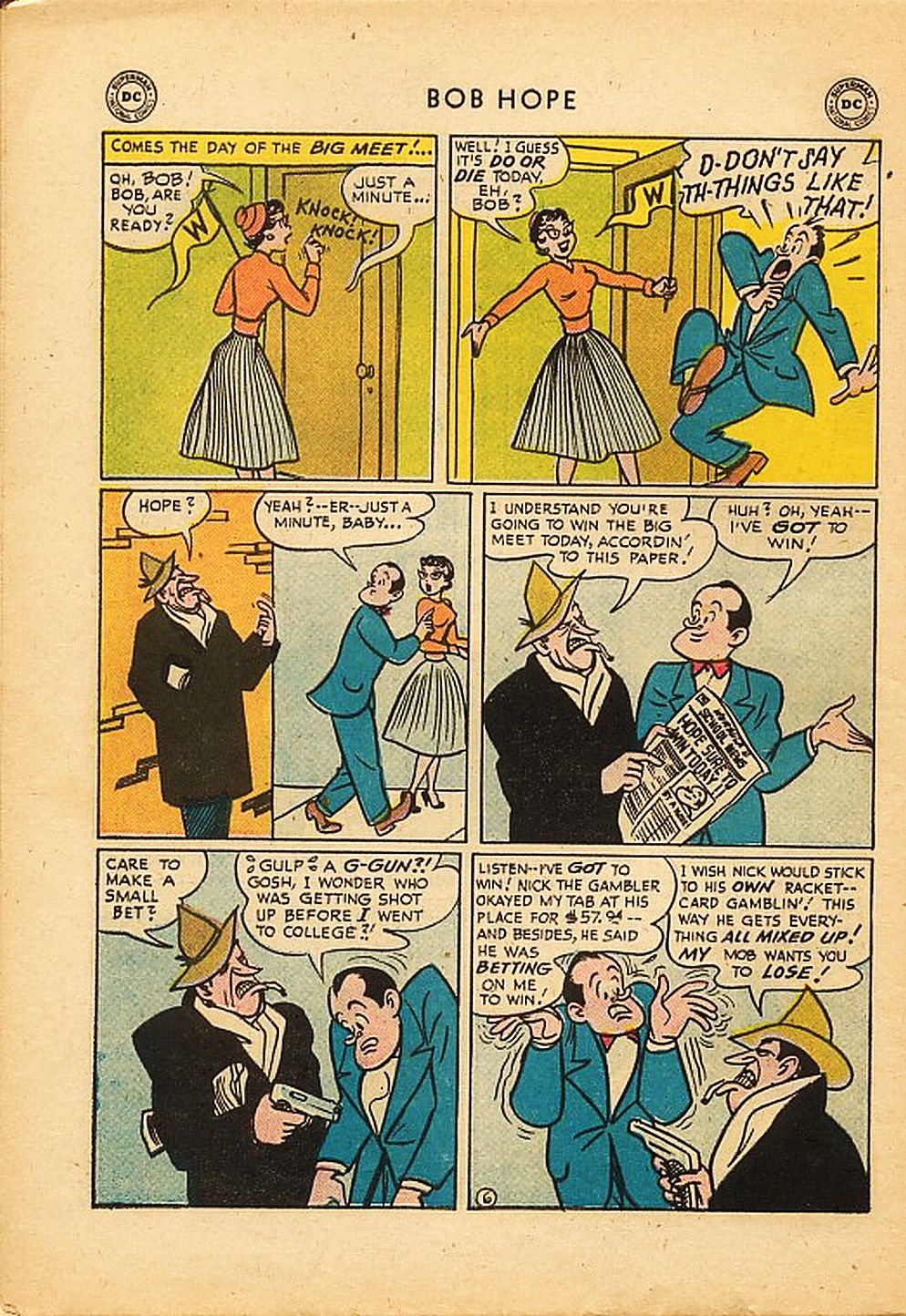 The Adventures of Bob Hope issue 42 - Page 30