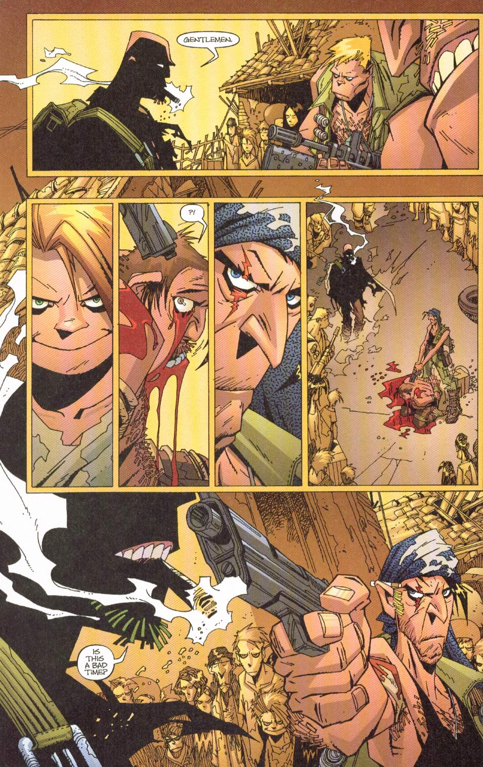 Wildcats (1999) Issue #7 #8 - English 5