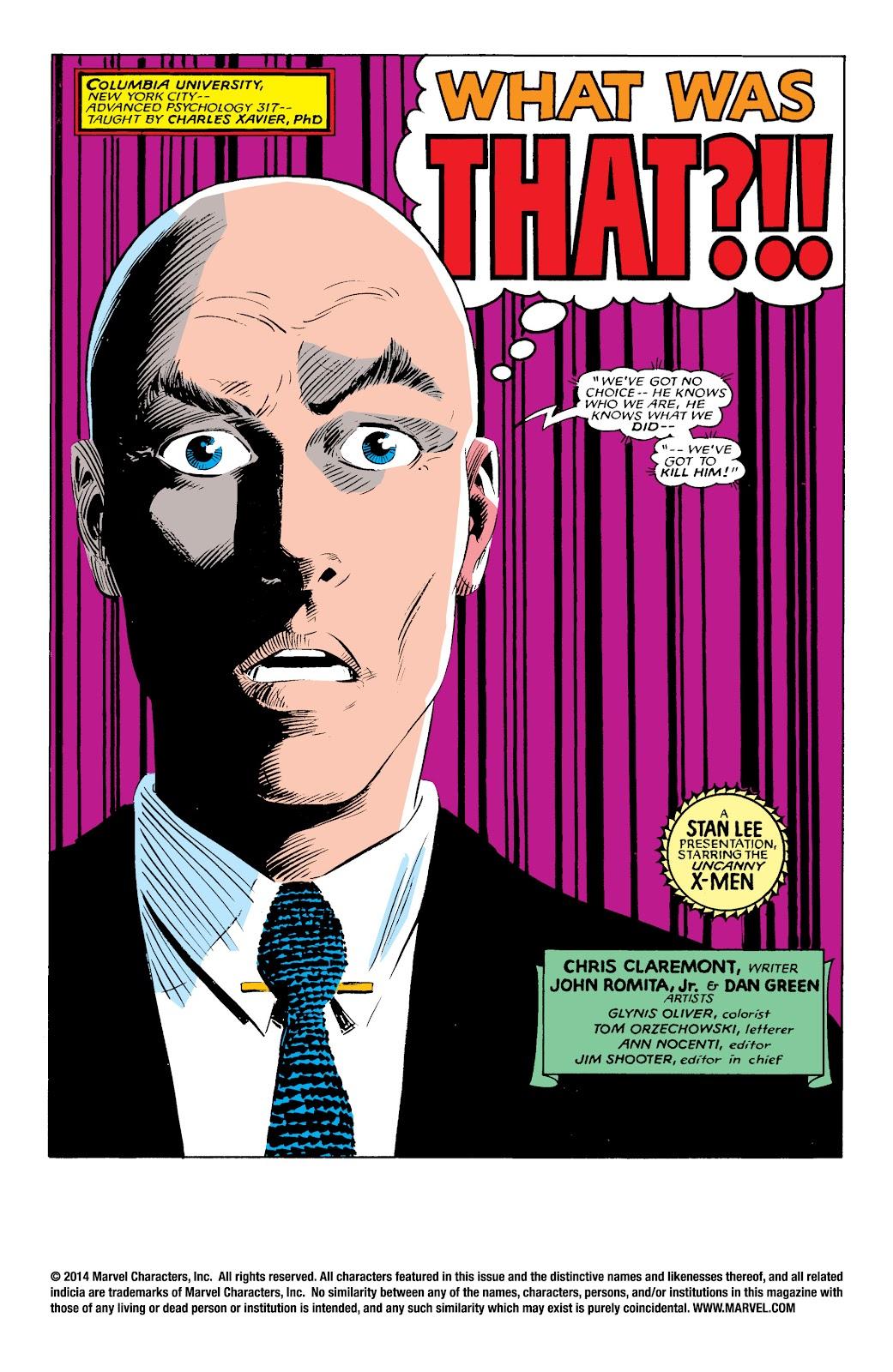 Uncanny X-Men (1963) issue 196 - Page 2