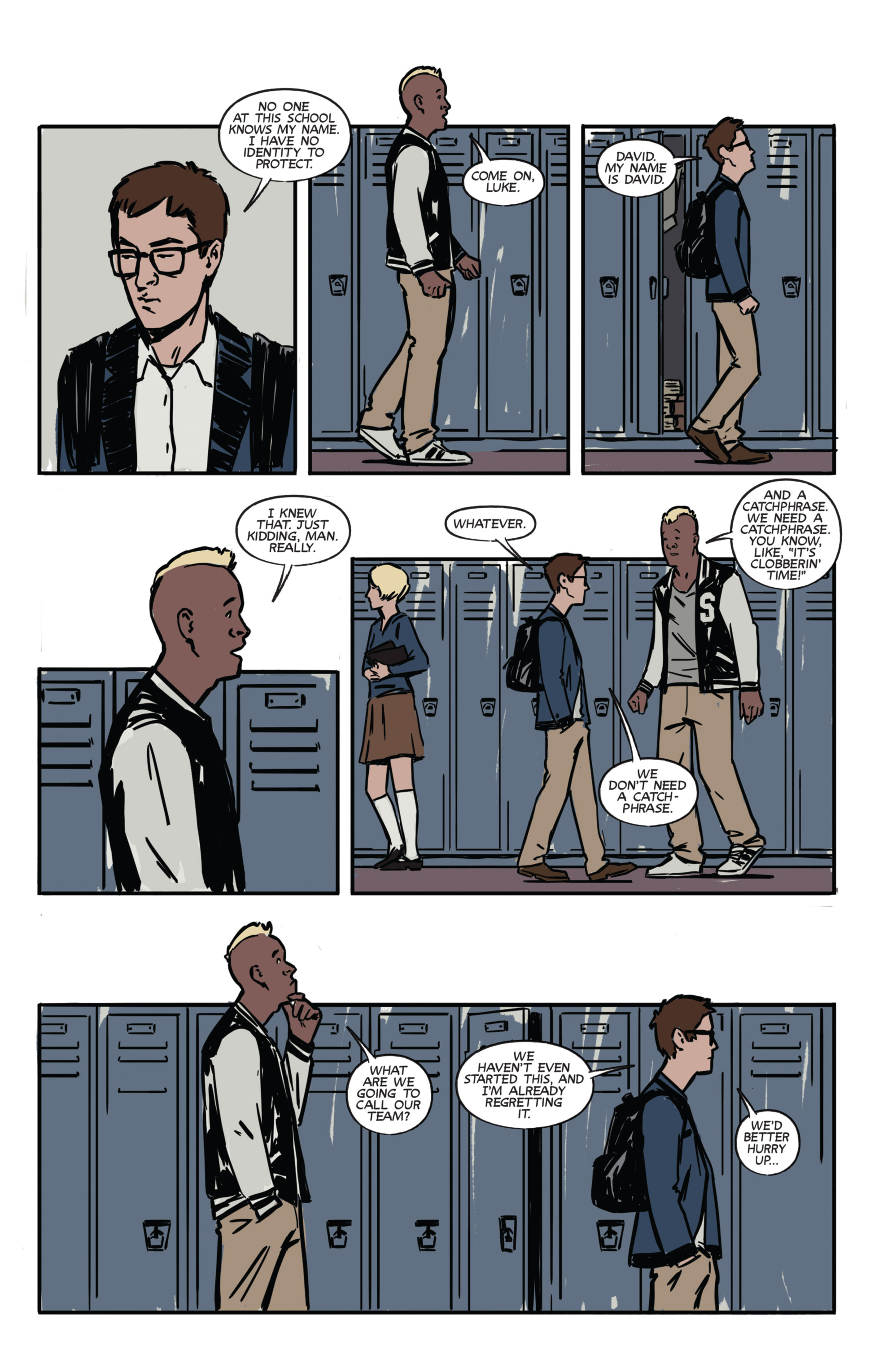 Read online Night Owl Society comic -  Issue #1 - 15