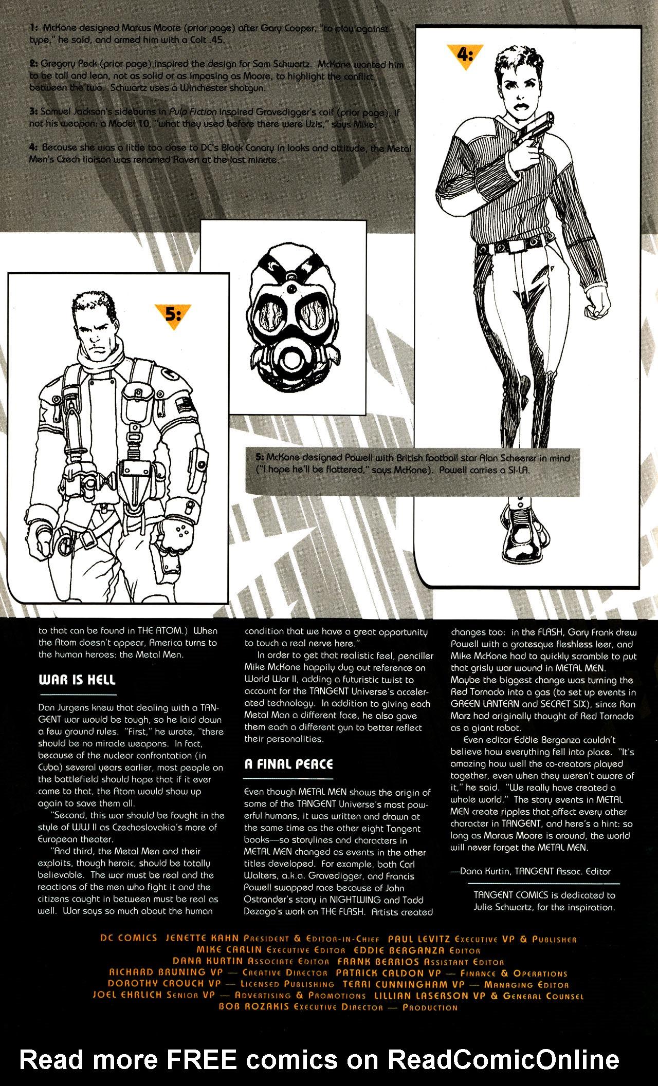 Read online Tangent Comics/ Metal Men comic -  Issue # Full - 39