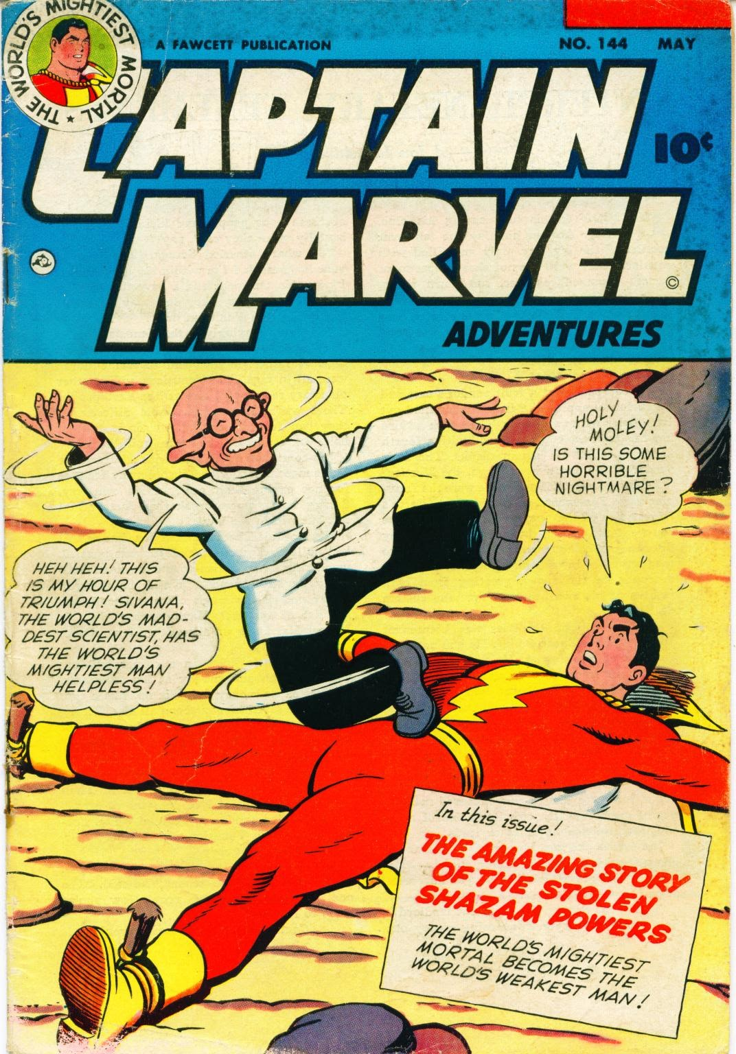 Captain Marvel Adventures issue 144 - Page 1