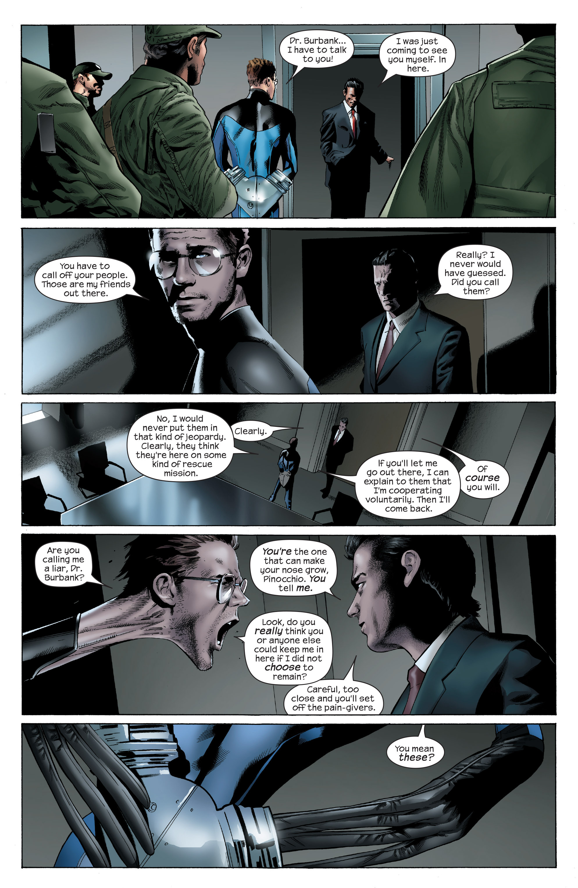 Read online Ultimate Power comic -  Issue #6 - 8