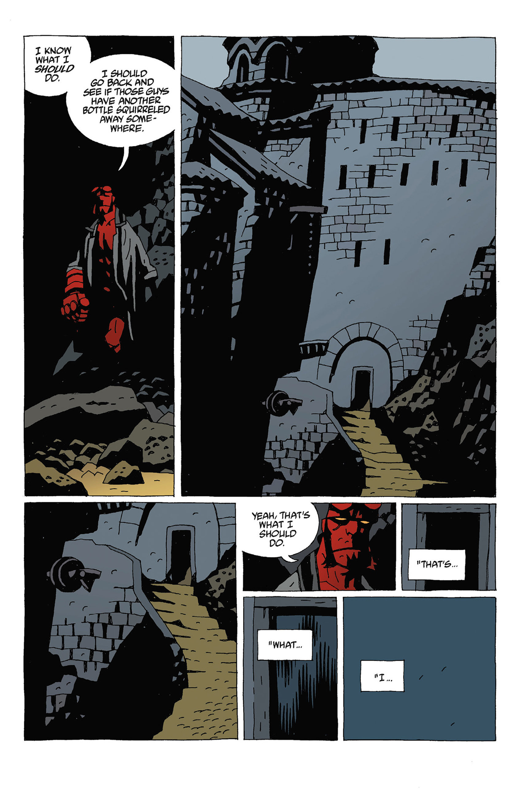 Read online Hellboy: Strange Places comic -  Issue # TPB - 80