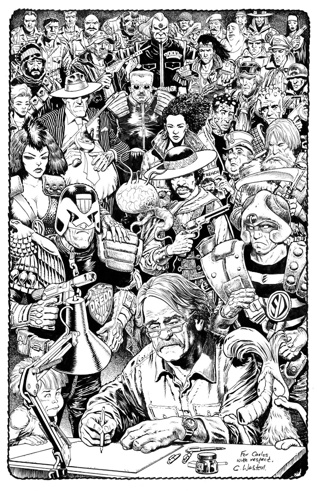 Read online 2000 AD Villains Special comic -  Issue # Full - 36