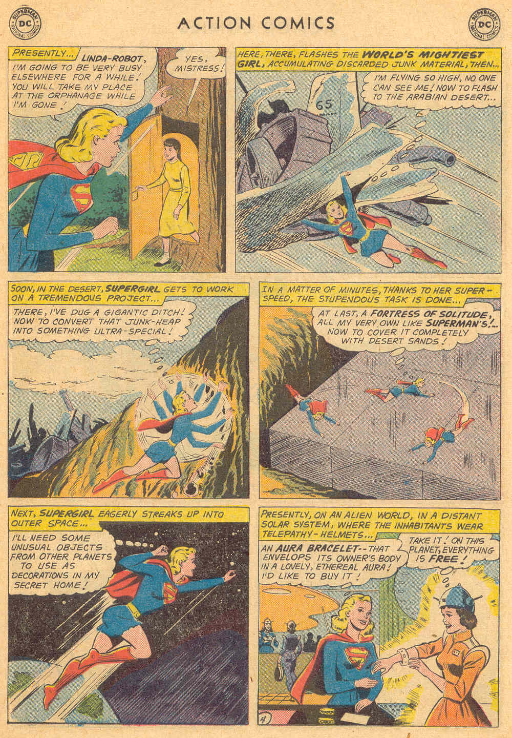 Read online Action Comics (1938) comic -  Issue #271 - 23