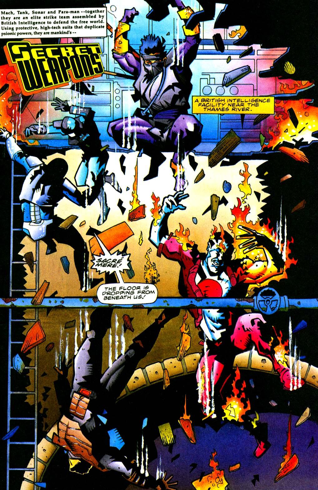Read online Secret Weapons comic -  Issue #21 - 2