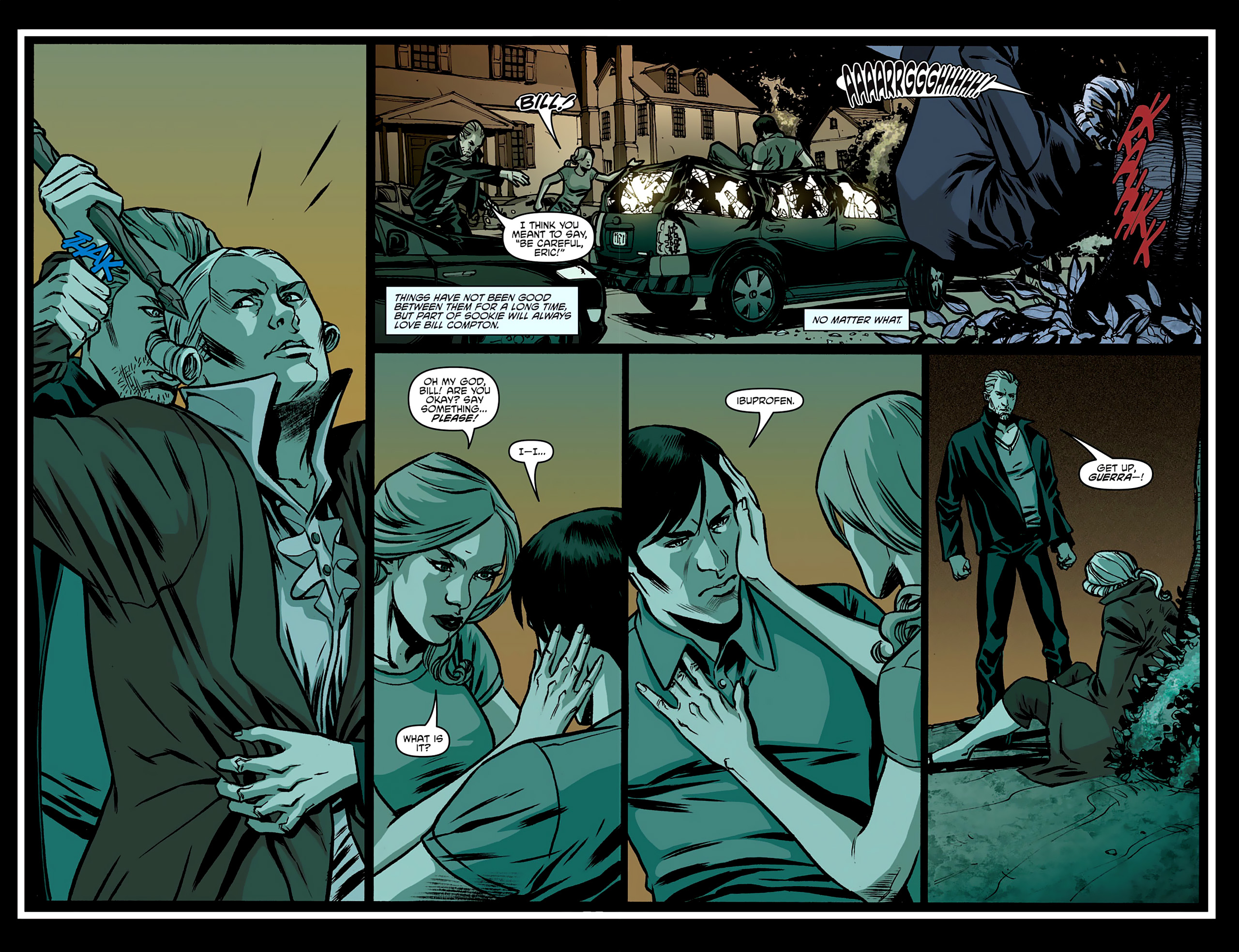 Read online True Blood: French Quarter comic -  Issue #3 - 21