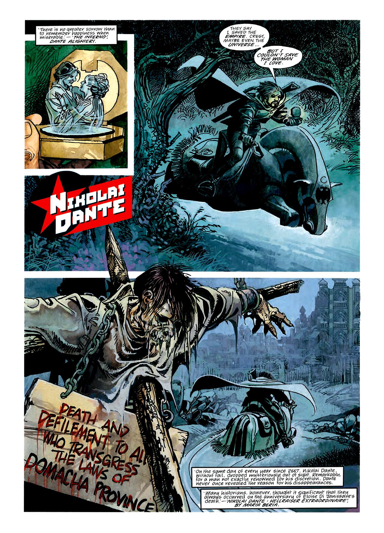 Read online Nikolai Dante comic -  Issue # TPB 3 - 49