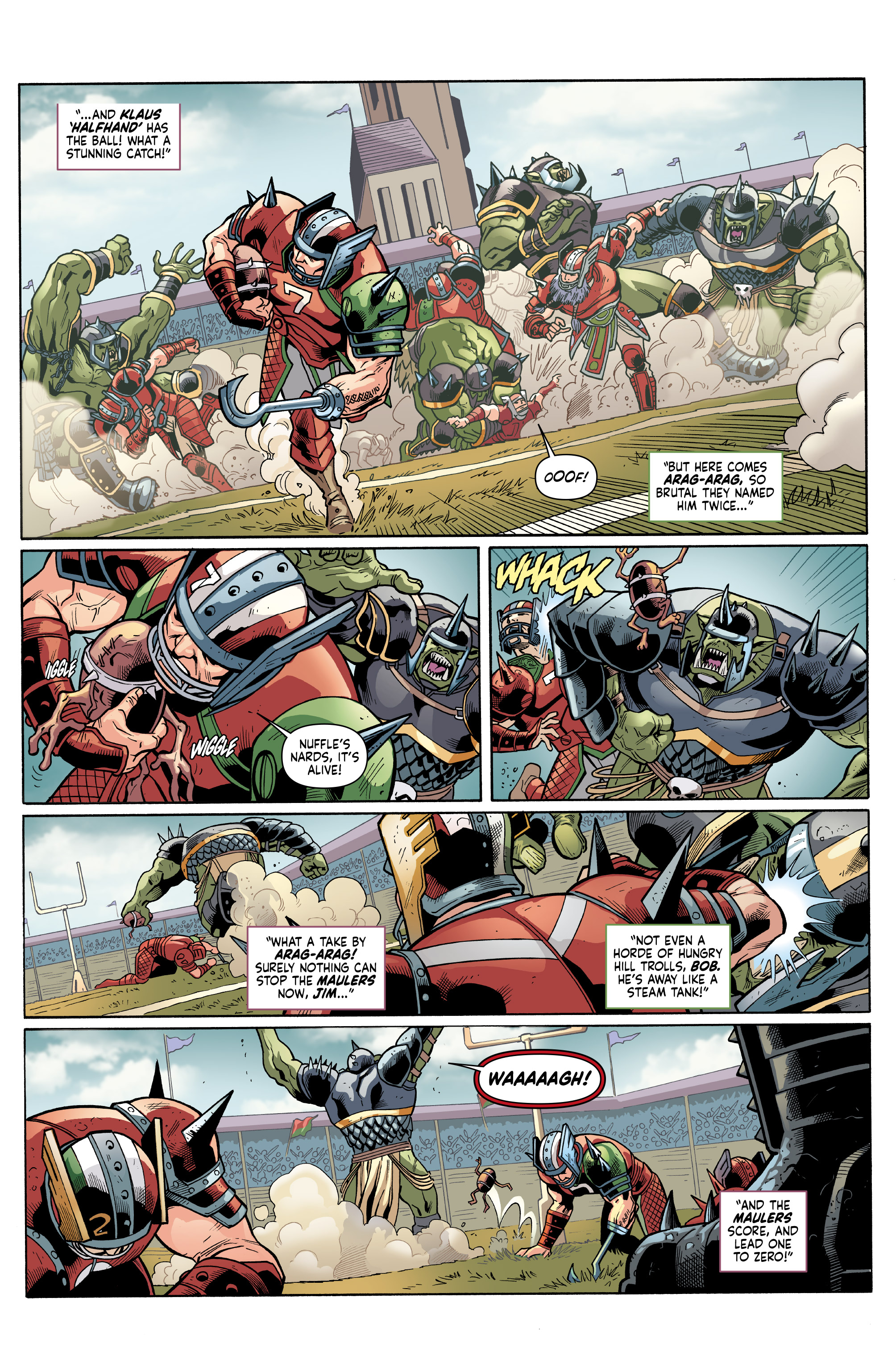 Read online Blood Bowl: More Guts, More Glory! comic -  Issue #1 - 24