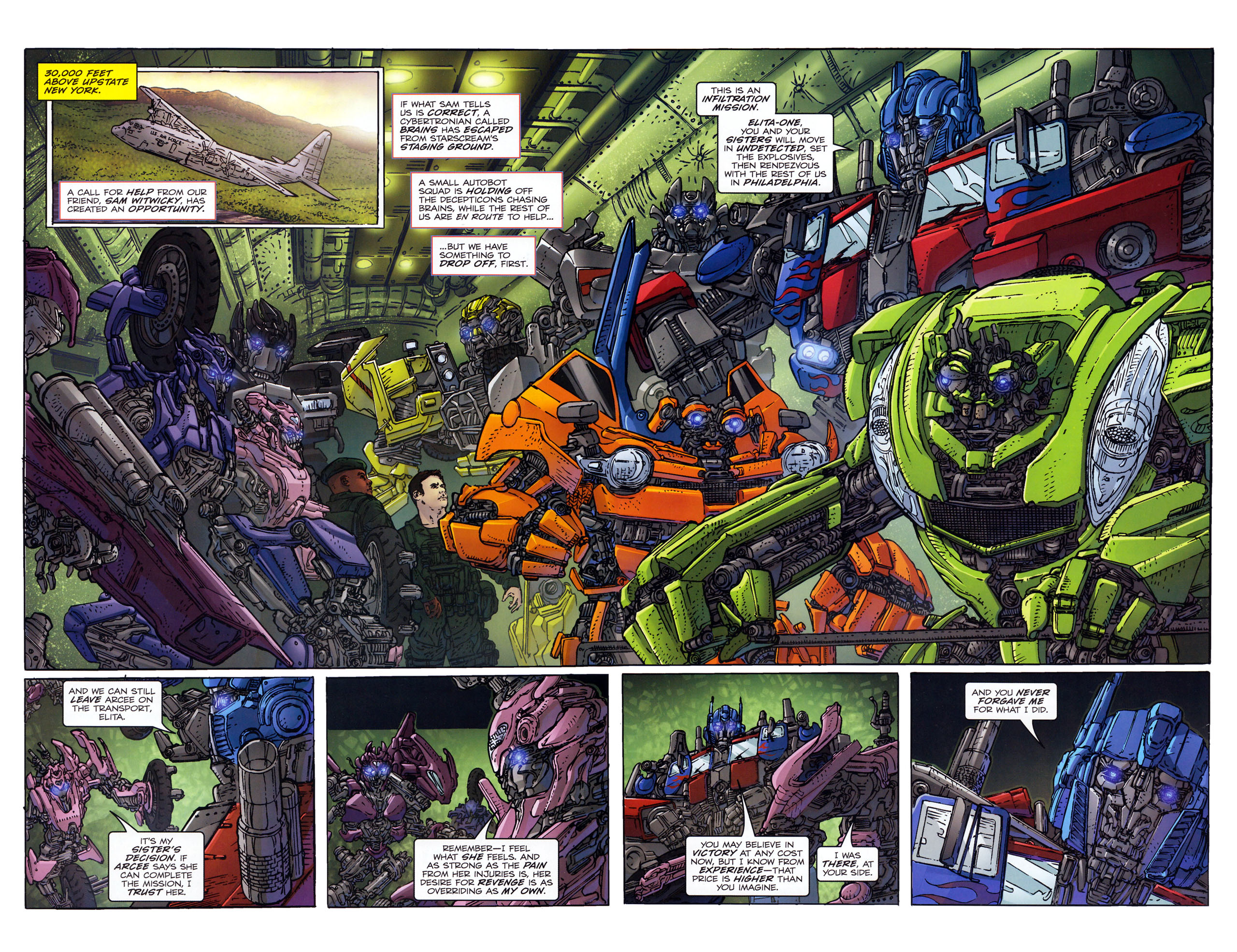 Read online Transformers: Dark of the Moon Rising Storm comic -  Issue #3 - 5