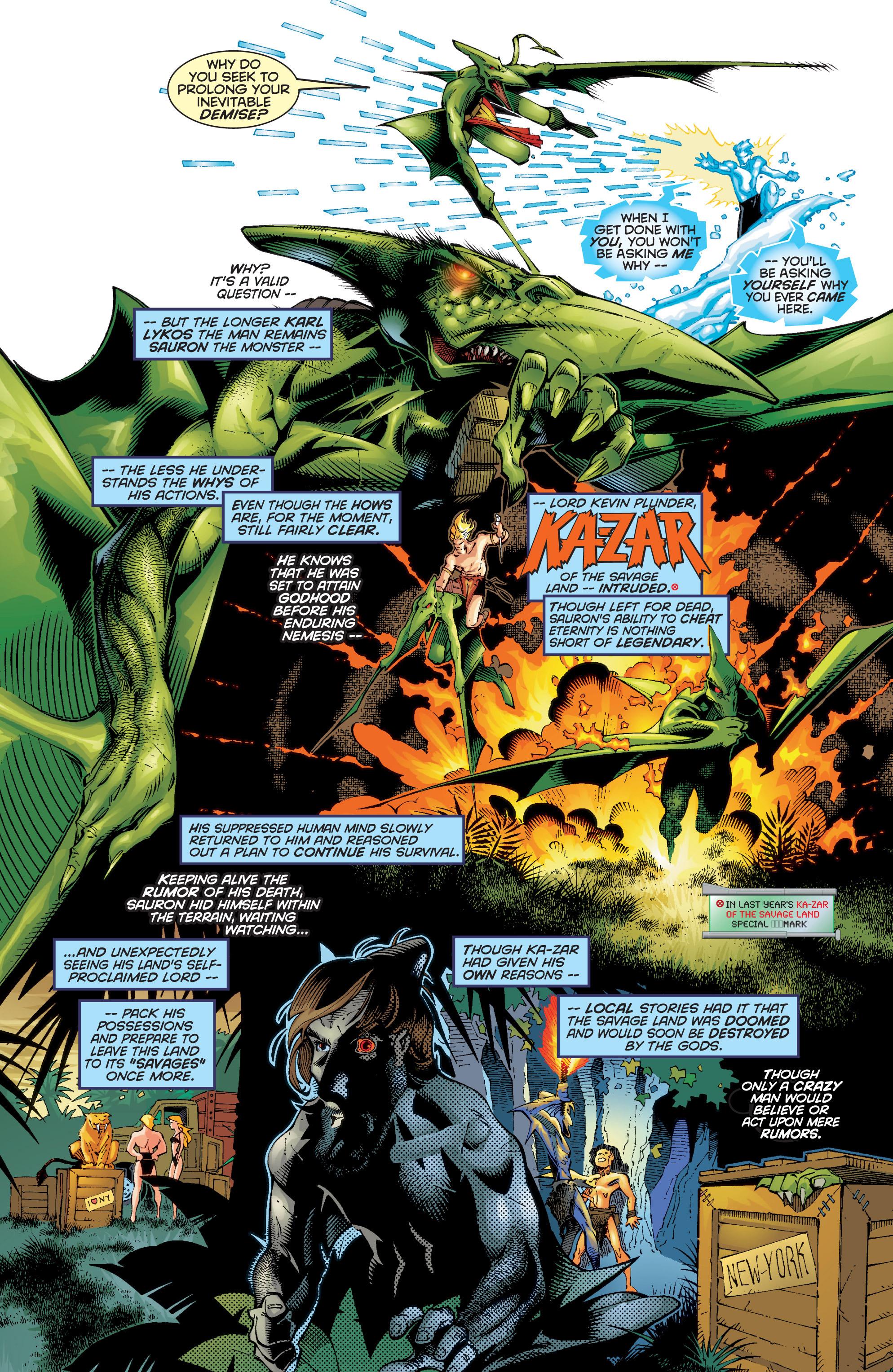 Read online Uncanny X-Men (1963) comic -  Issue #354 - 5