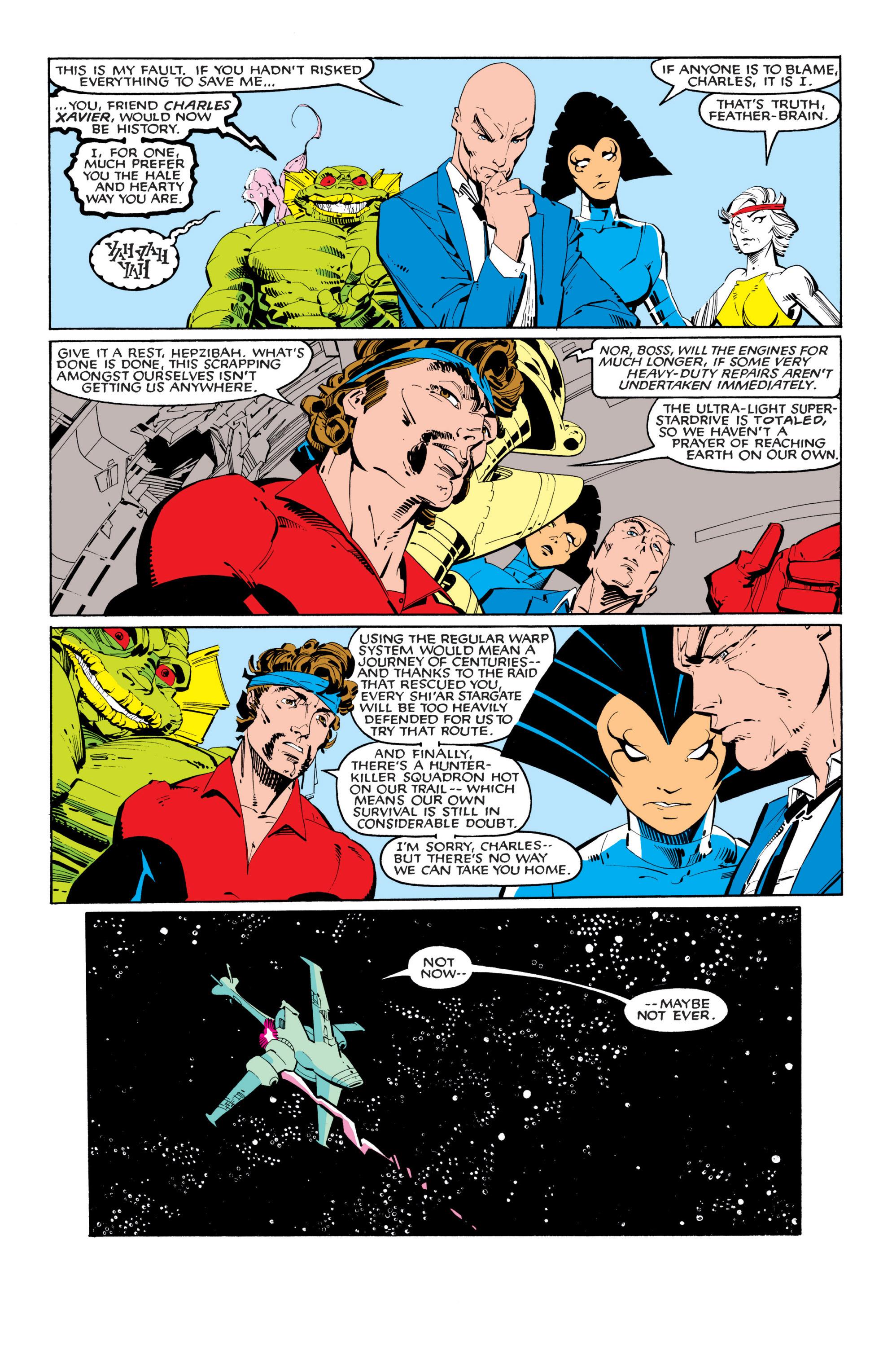 Read online Uncanny X-Men (1963) comic -  Issue #201 - 8