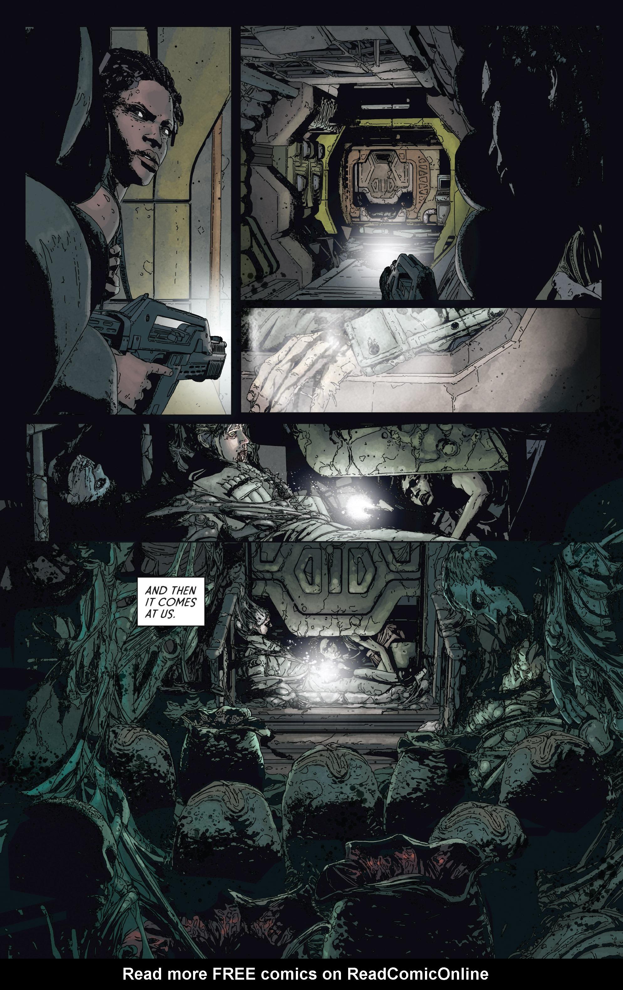 Read online Aliens: Defiance comic -  Issue #2 - 16