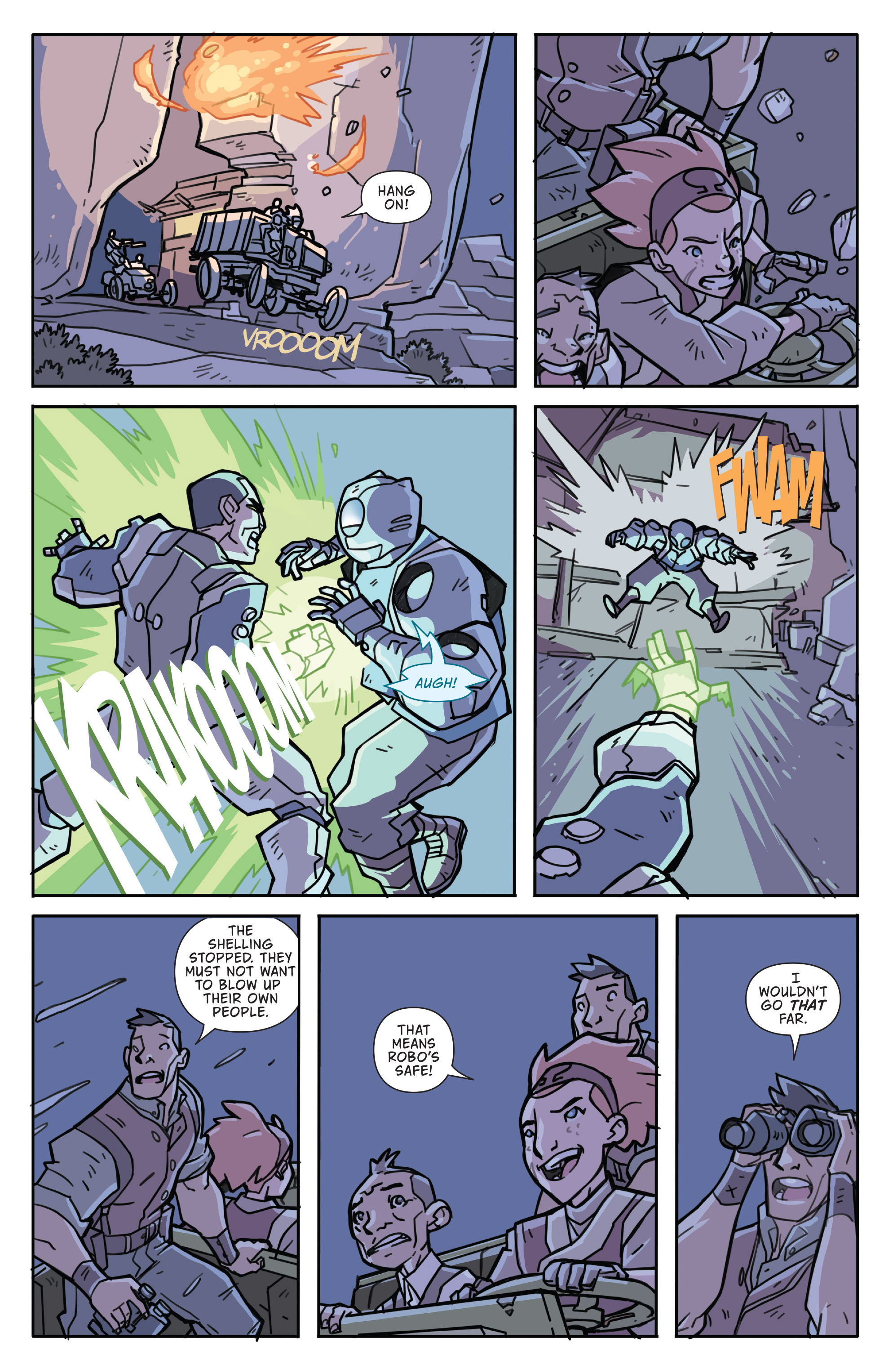 Read online Atomic Robo and the Temple of Od comic -  Issue #3 - 21