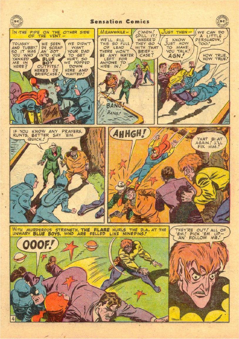 Read online Sensation (Mystery) Comics comic -  Issue #70 - 18