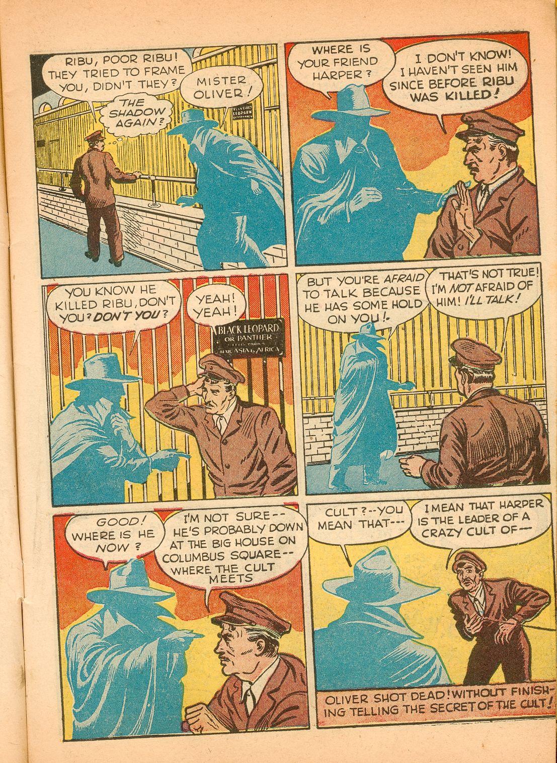 Read online Shadow Comics comic -  Issue #11 - 11
