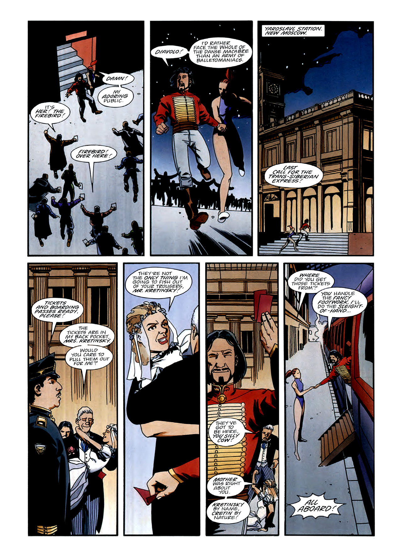 Read online Nikolai Dante comic -  Issue # TPB 3 - 26