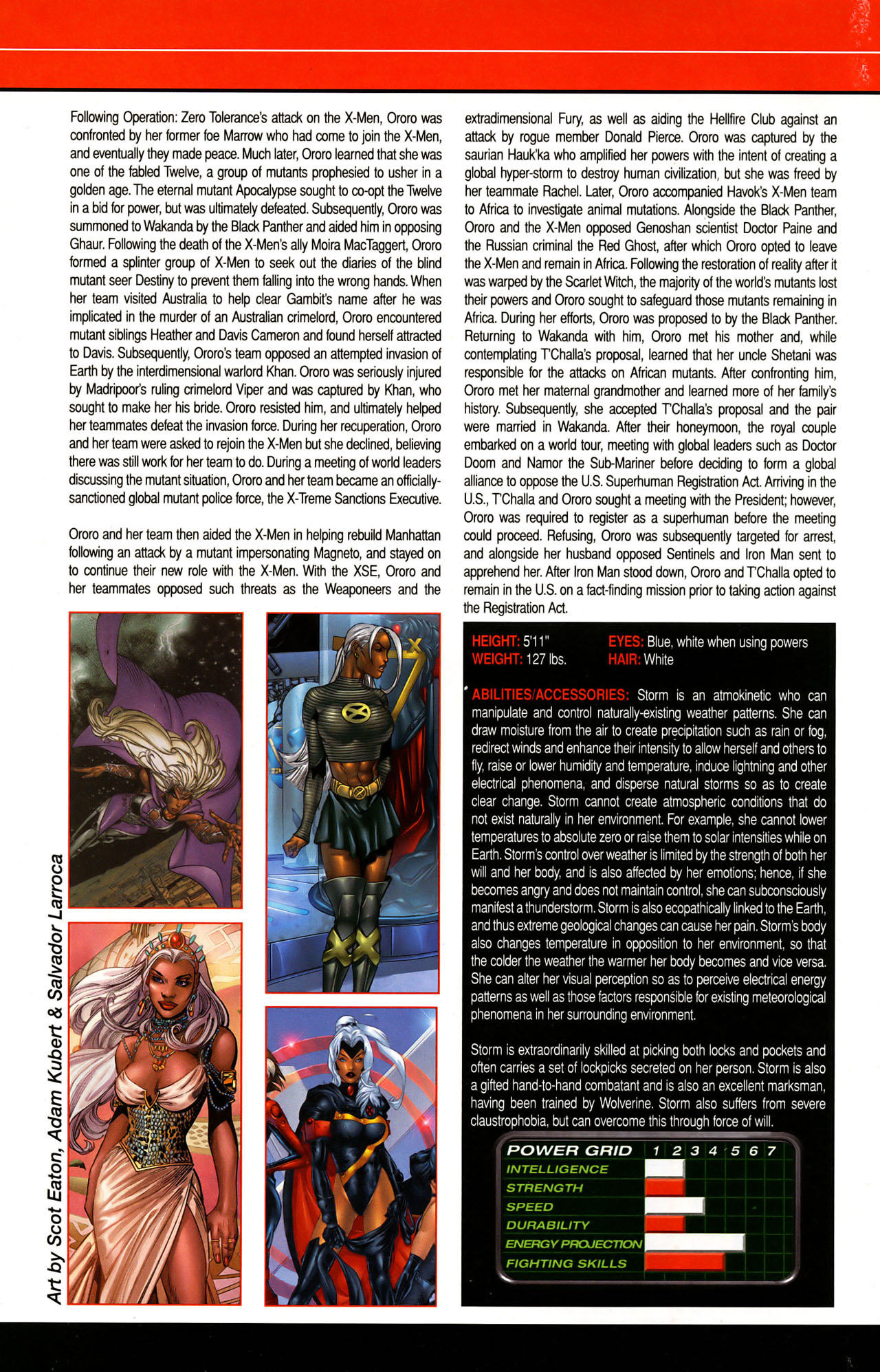 Read online All-New Official Handbook of the Marvel Universe A to Z: Update comic -  Issue #1 - 57