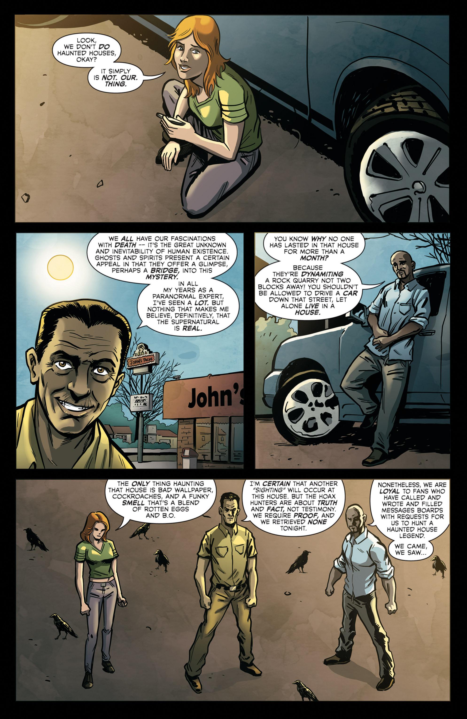 Read online Hoax Hunters (2012) comic -  Issue # TPB 2 - 83