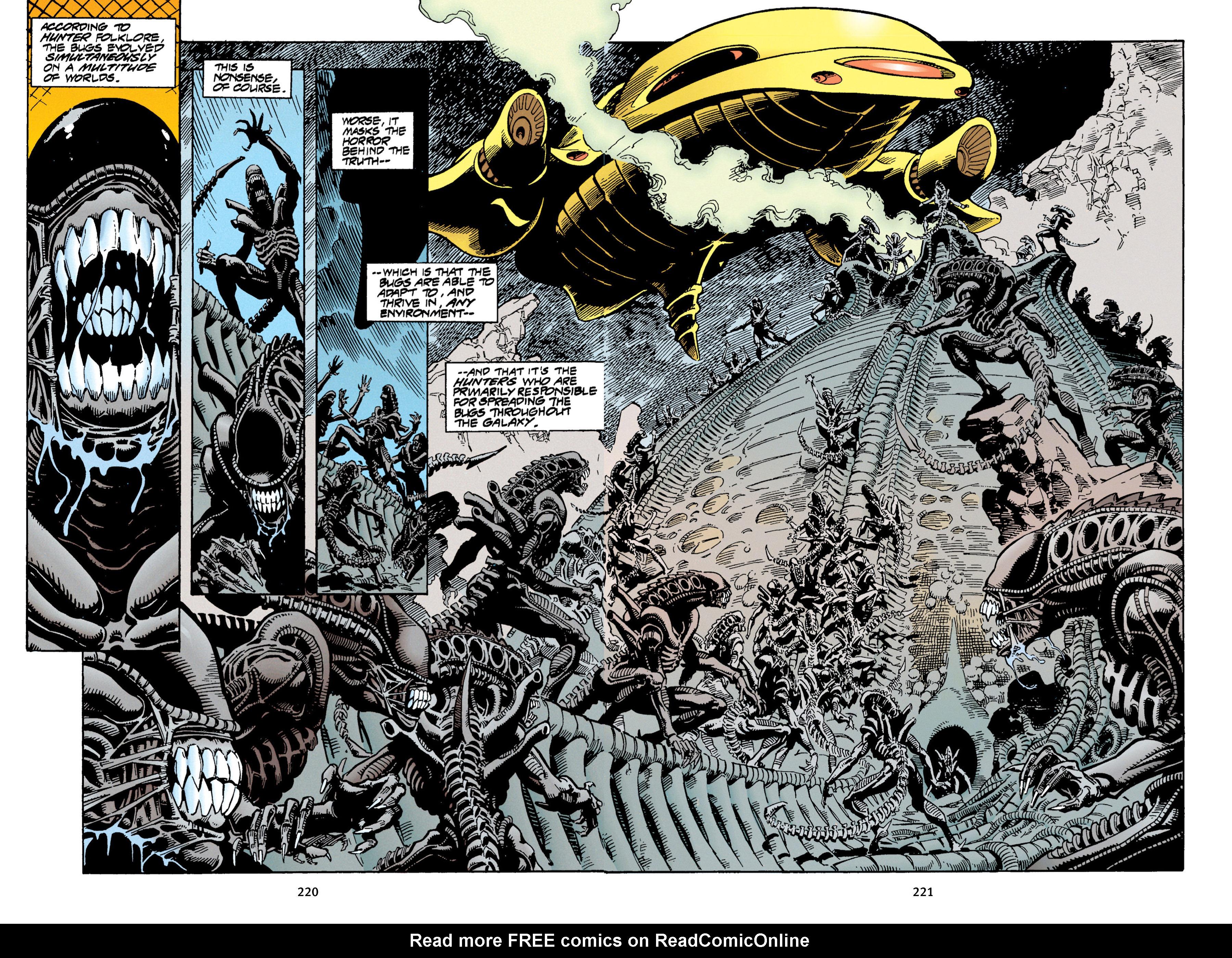 Read online Aliens vs. Predator Omnibus comic -  Issue # _TPB 1 Part 3 - 15