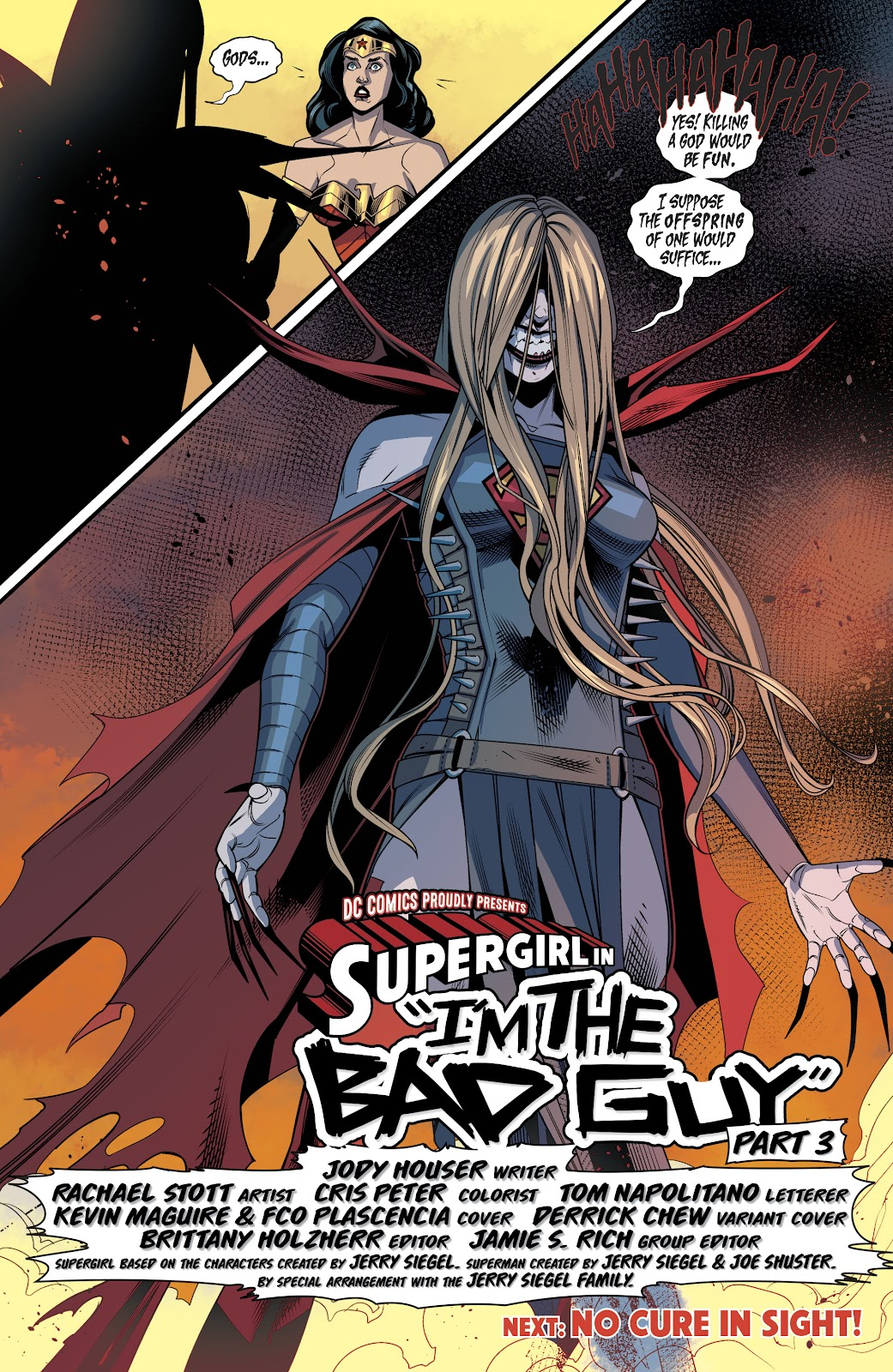 Read online Supergirl (2016) comic -  Issue #39 - 22