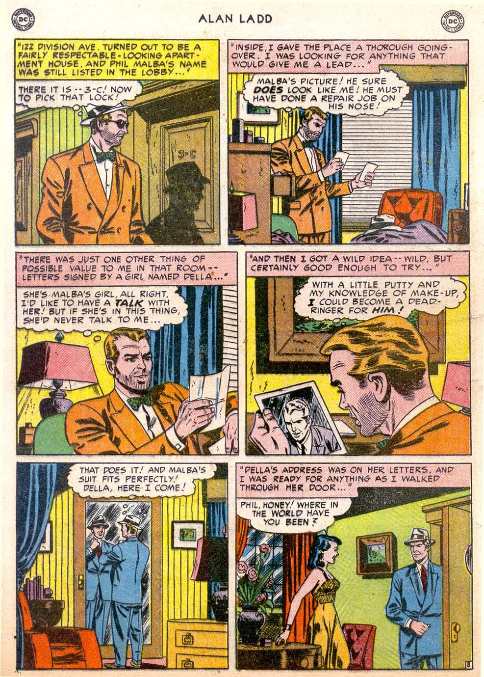 Adventures of Alan Ladd issue 4 - Page 10