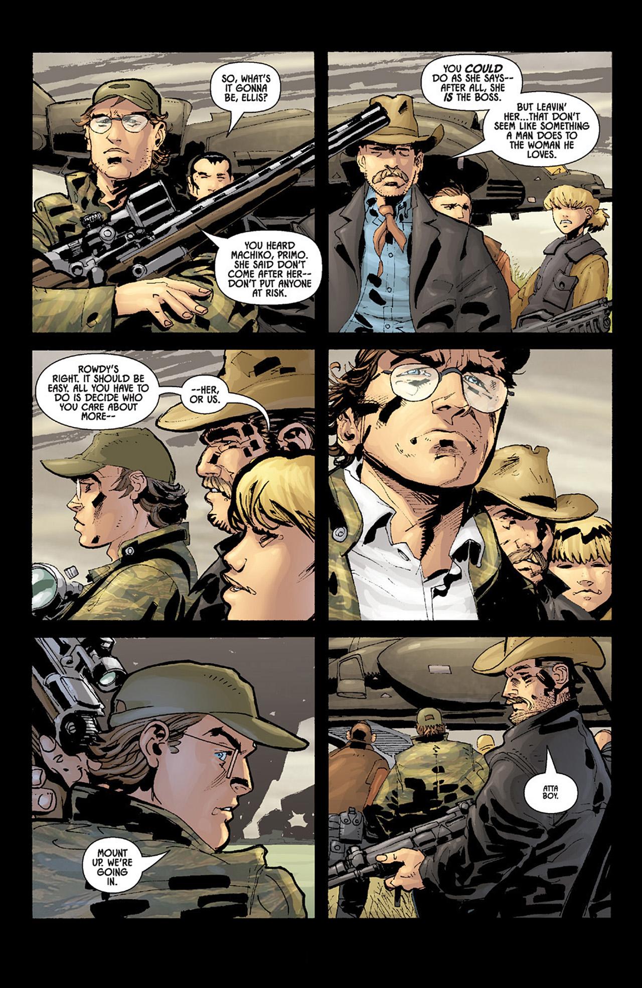 Read online Aliens vs. Predator: Three World War comic -  Issue #6 - 14