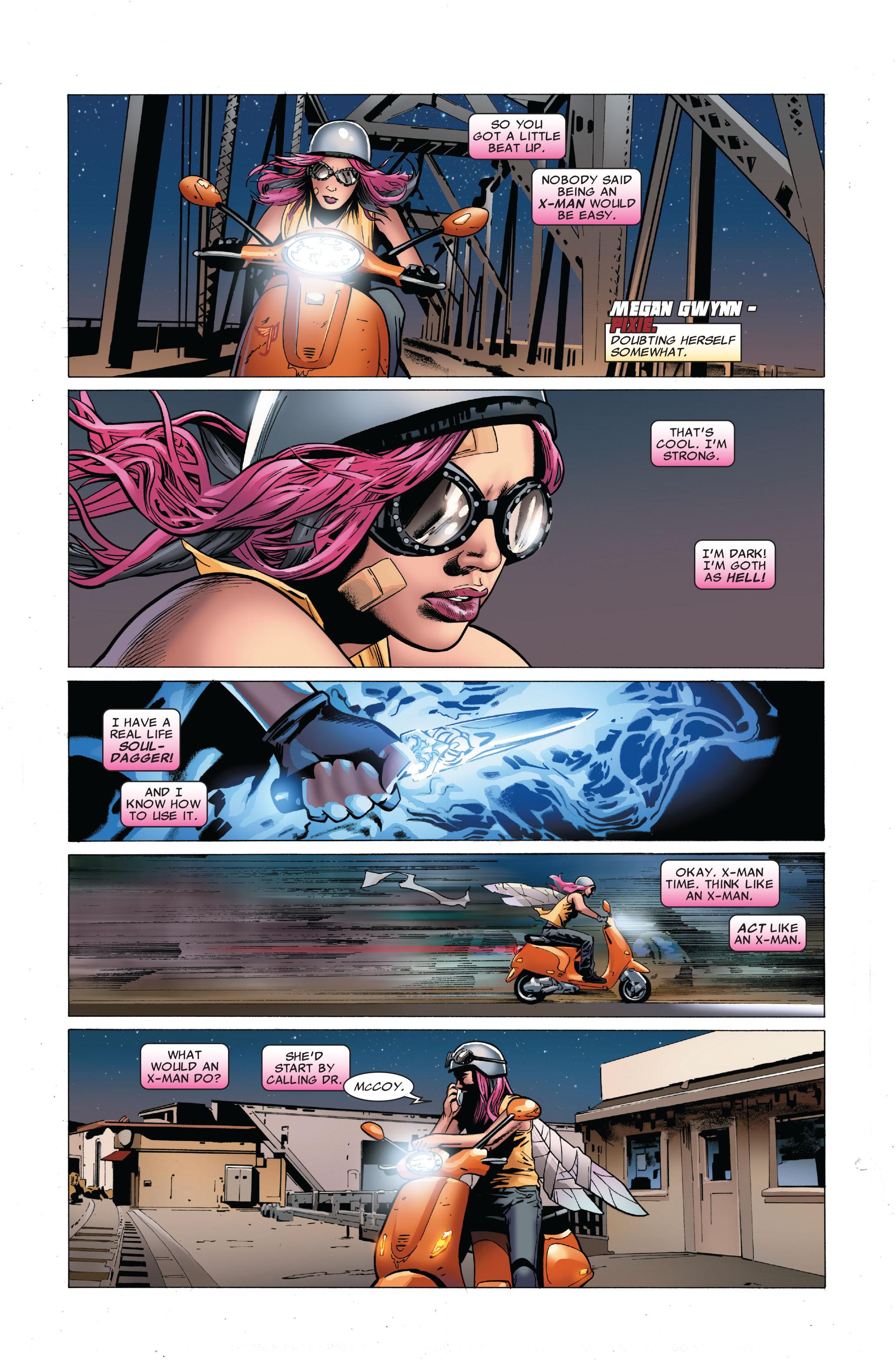 Read online Uncanny X-Men (1963) comic -  Issue #503 - 9