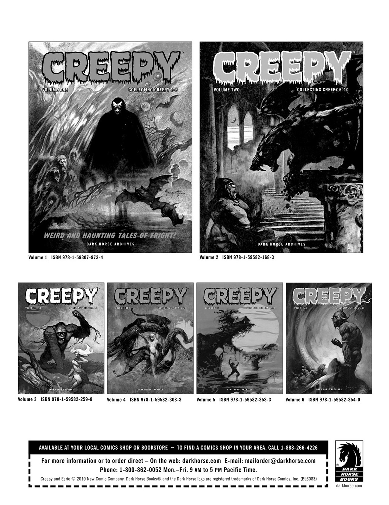 Read online Eerie Archives comic -  Issue # TPB 3 - 255