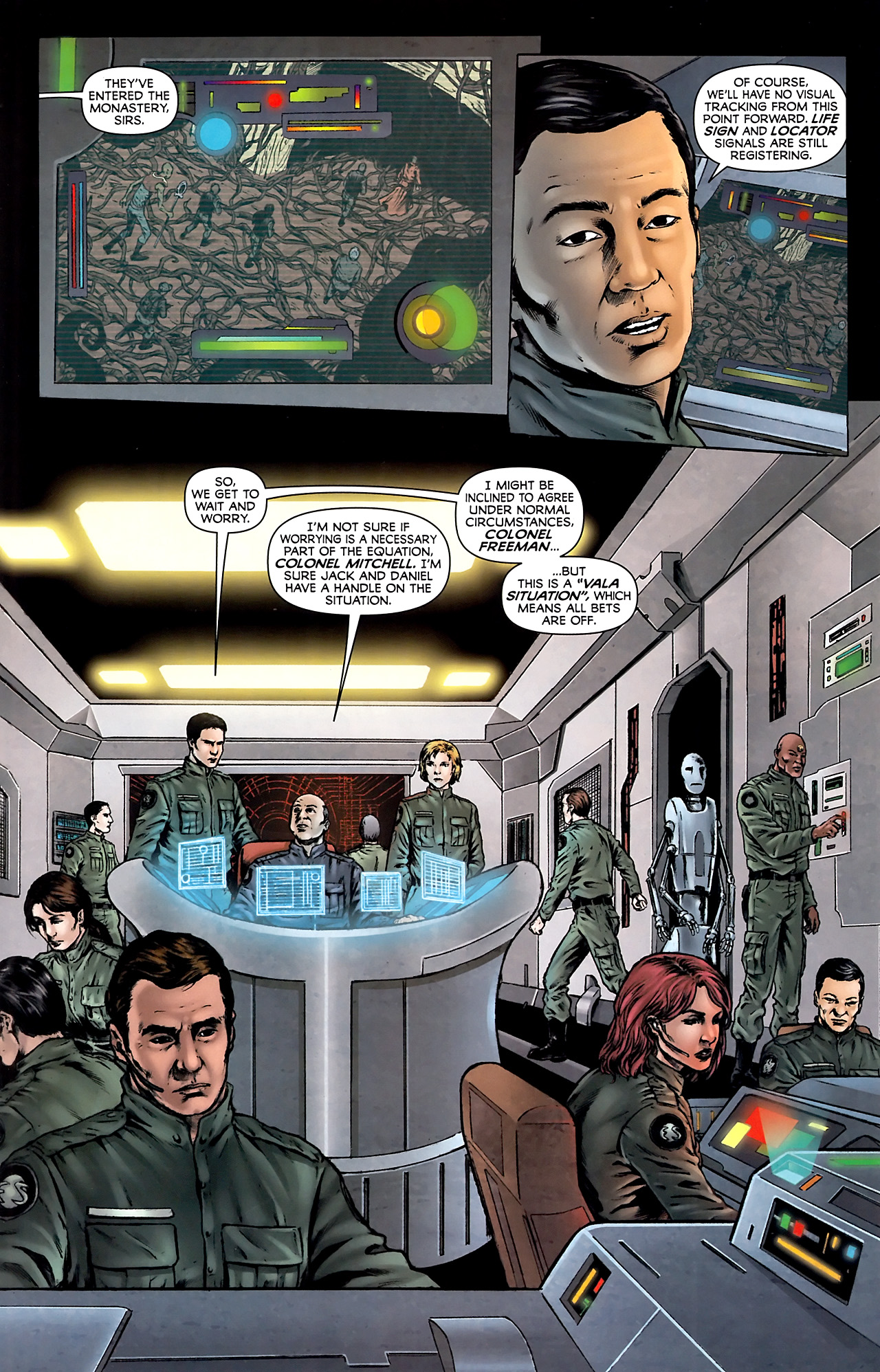 Read online Stargate Vala Mal Doran comic -  Issue #4 - 11