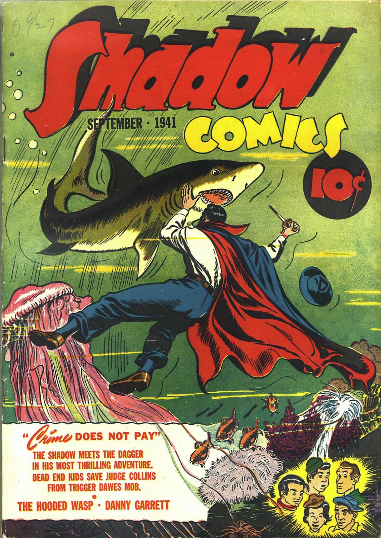 Read online Shadow Comics comic -  Issue #12 - 1