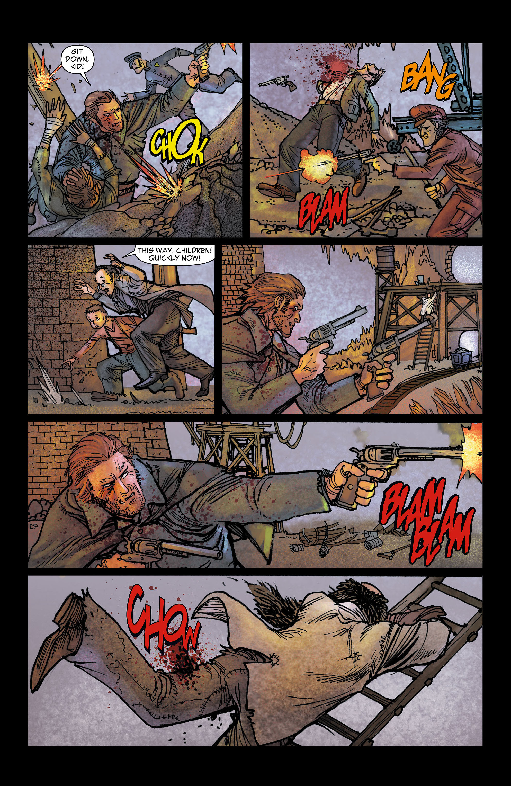 Read online All-Star Western (2011) comic -  Issue #6 - 11