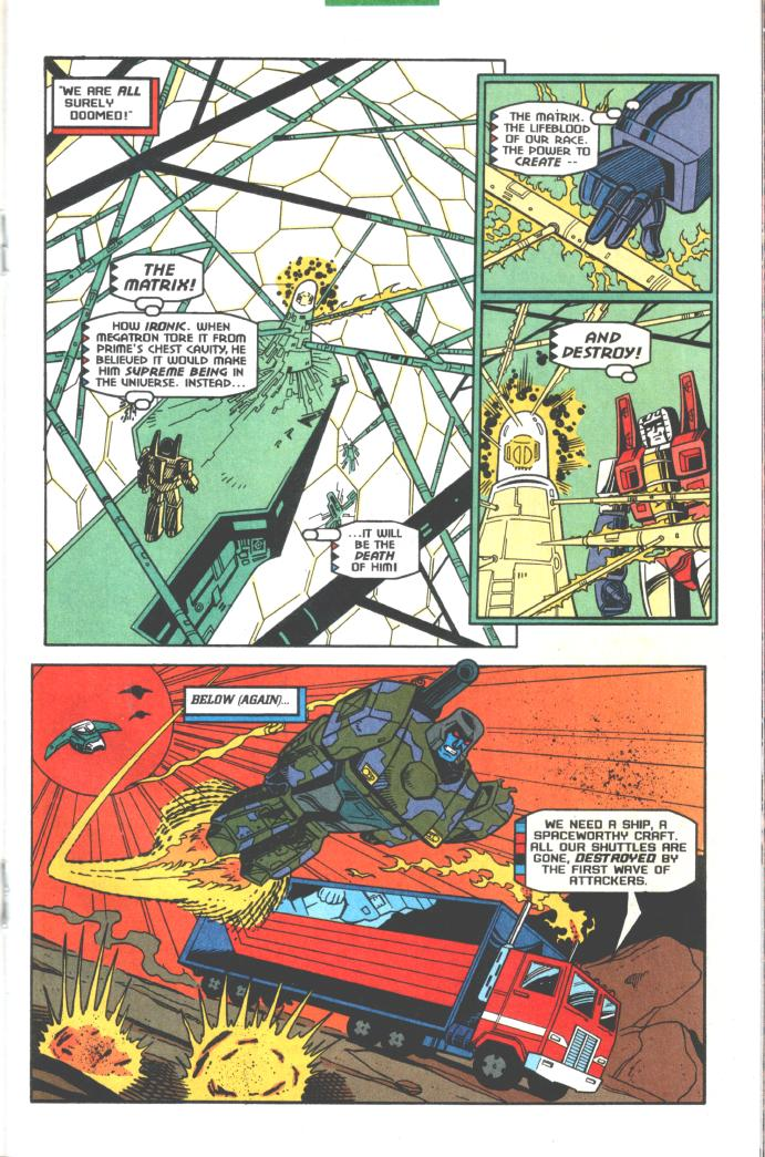 Read online Transformers: Generation 2 comic -  Issue #10 - 13
