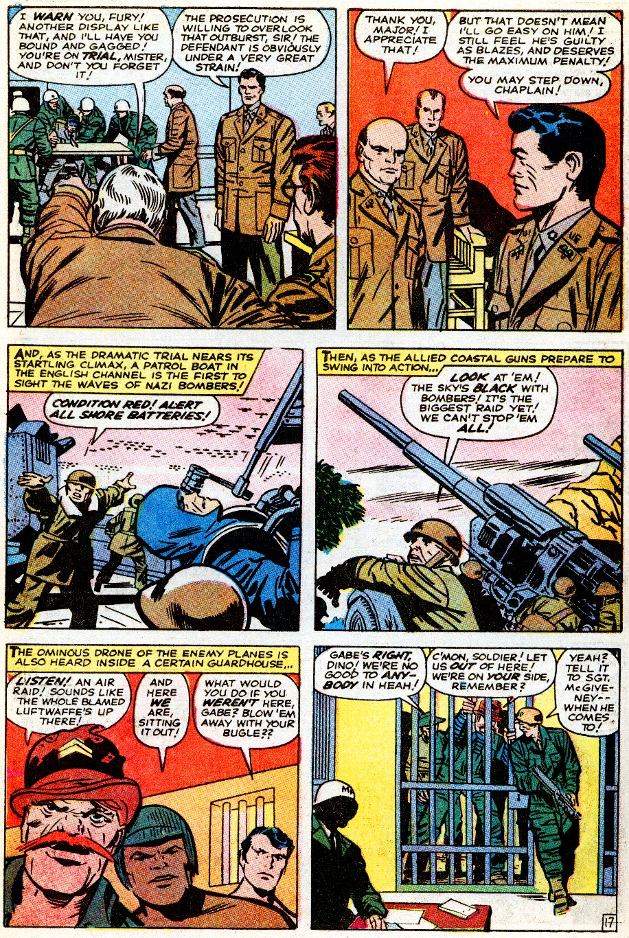 Read online Sgt. Fury comic -  Issue # _Special 5 - 60