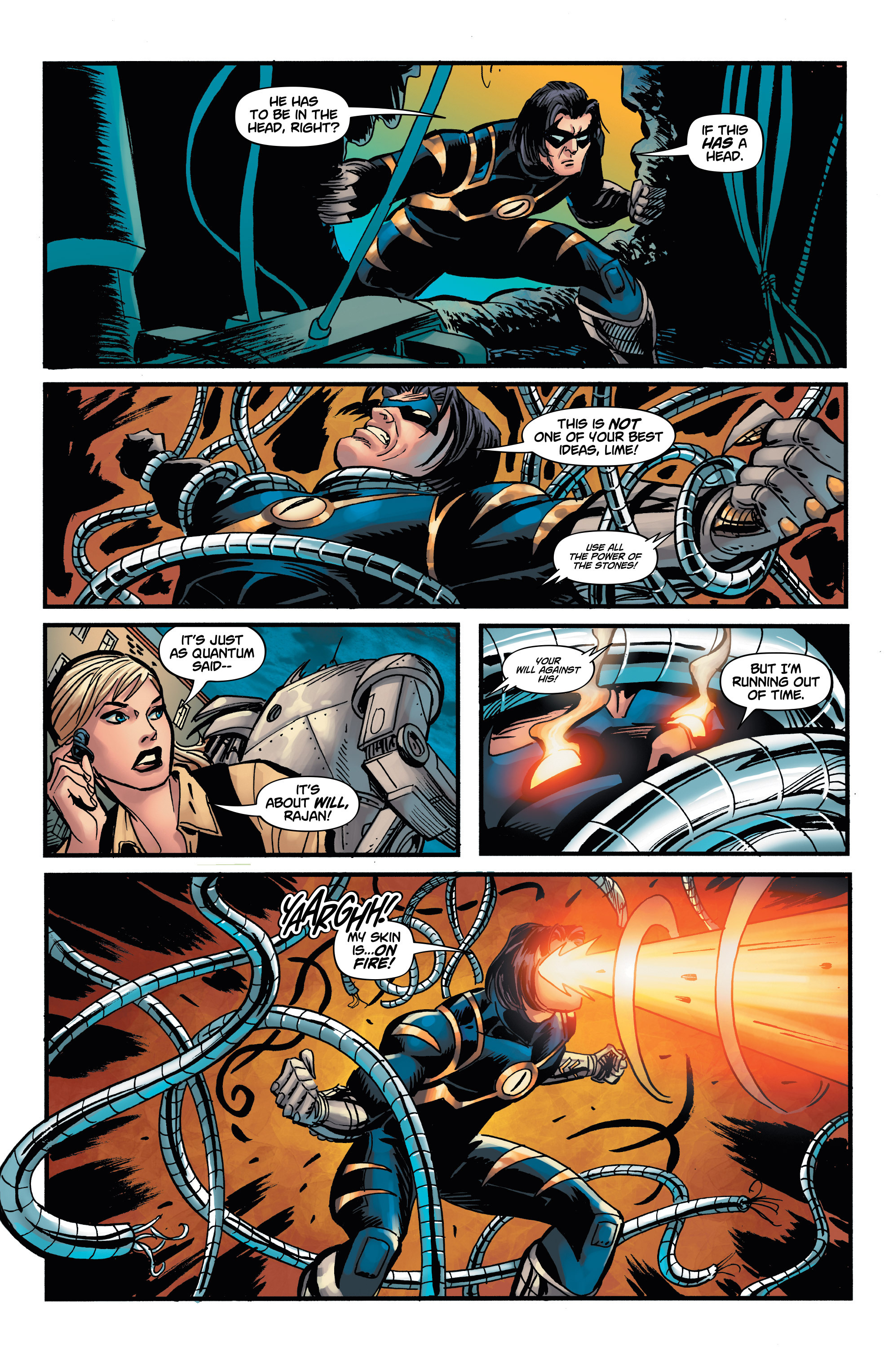 Read online Shadow Tiger comic -  Issue #4 - 21