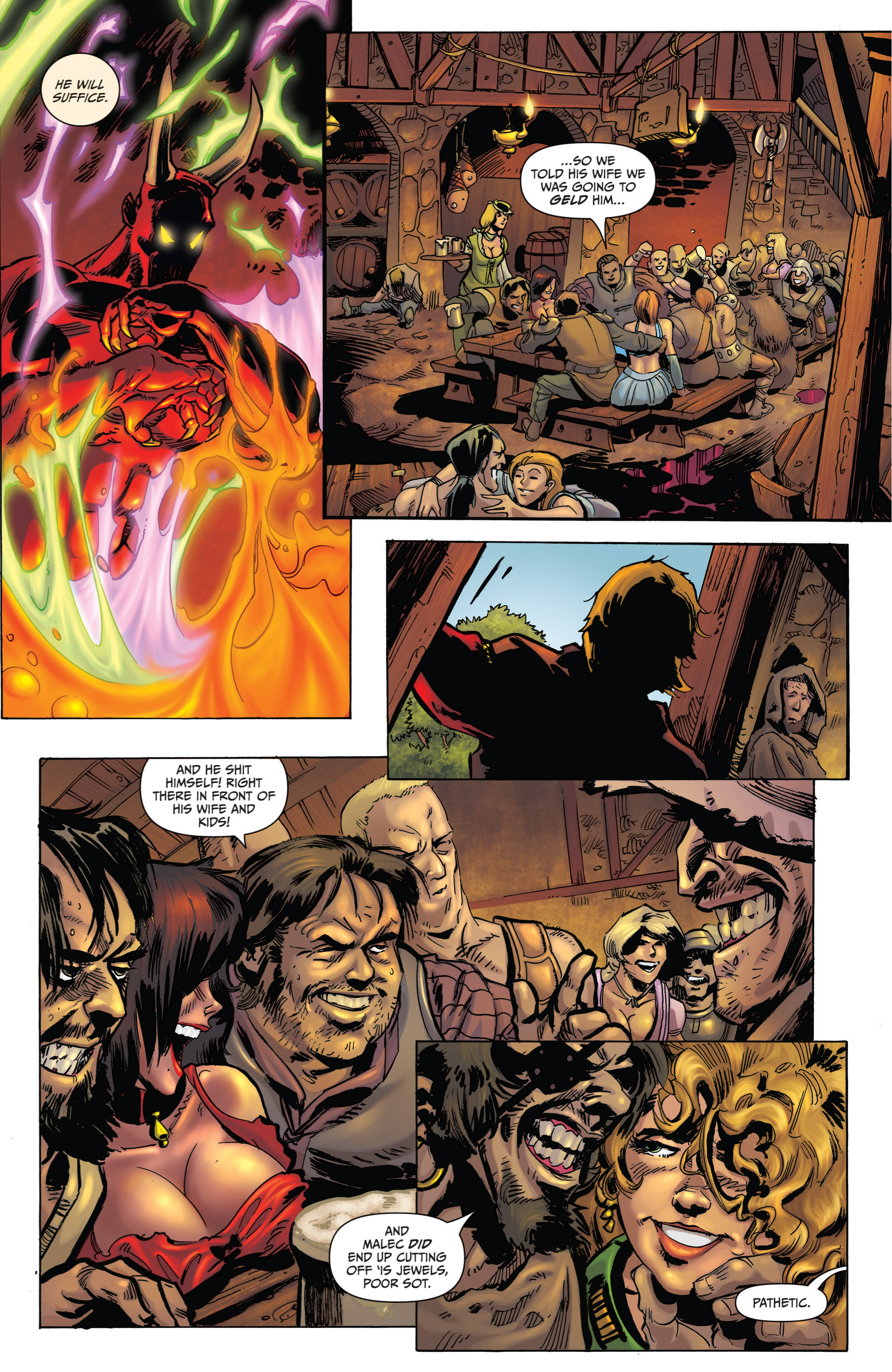 Read online Grimm Fairy Tales presents Grimm Universe comic -  Issue # TPB - 159