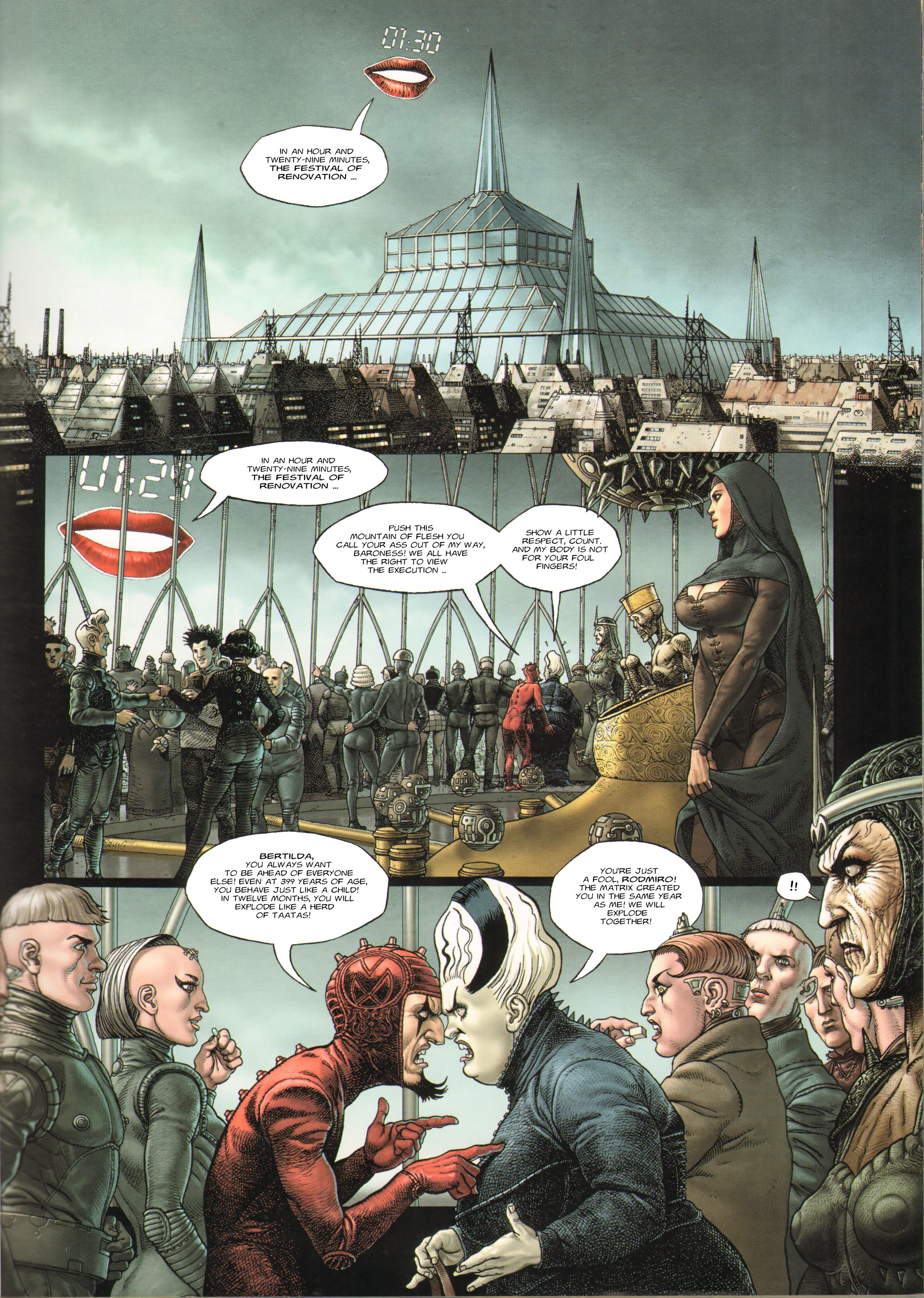Read online Megalex (2014) comic -  Issue #3 - 4