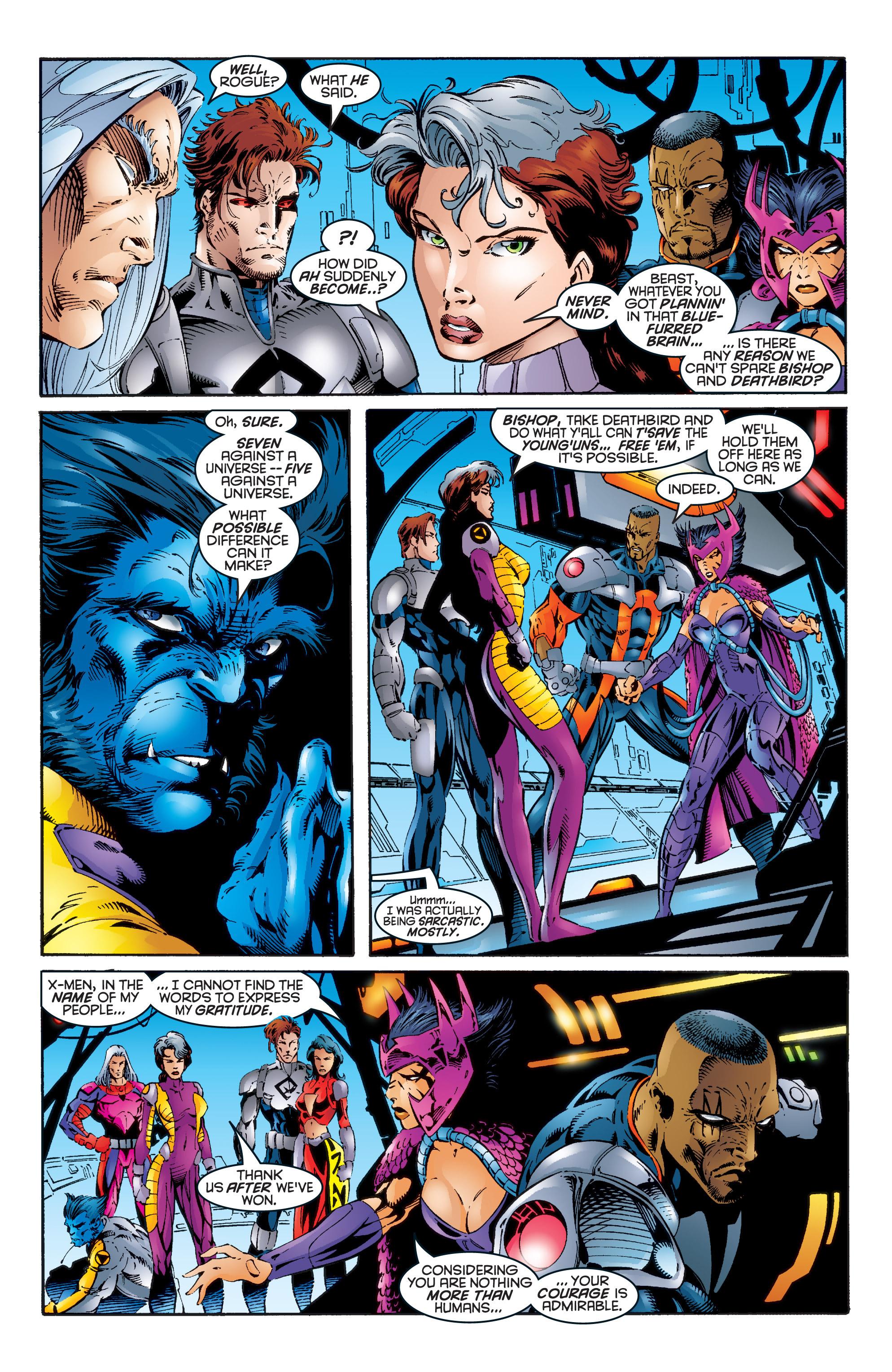 Read online Uncanny X-Men (1963) comic -  Issue #344 - 6