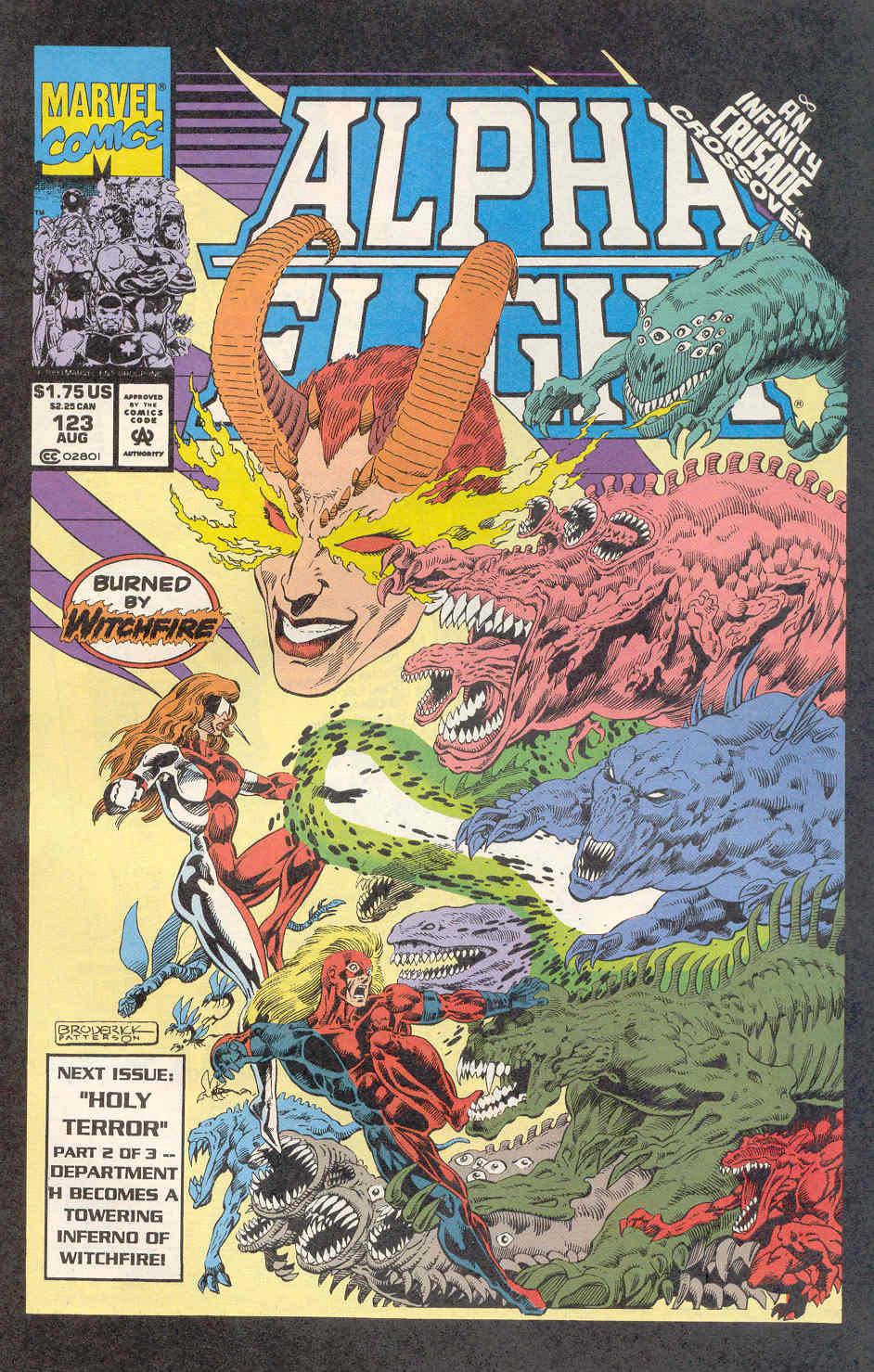 Read online Alpha Flight (1983) comic -  Issue #122 - 25