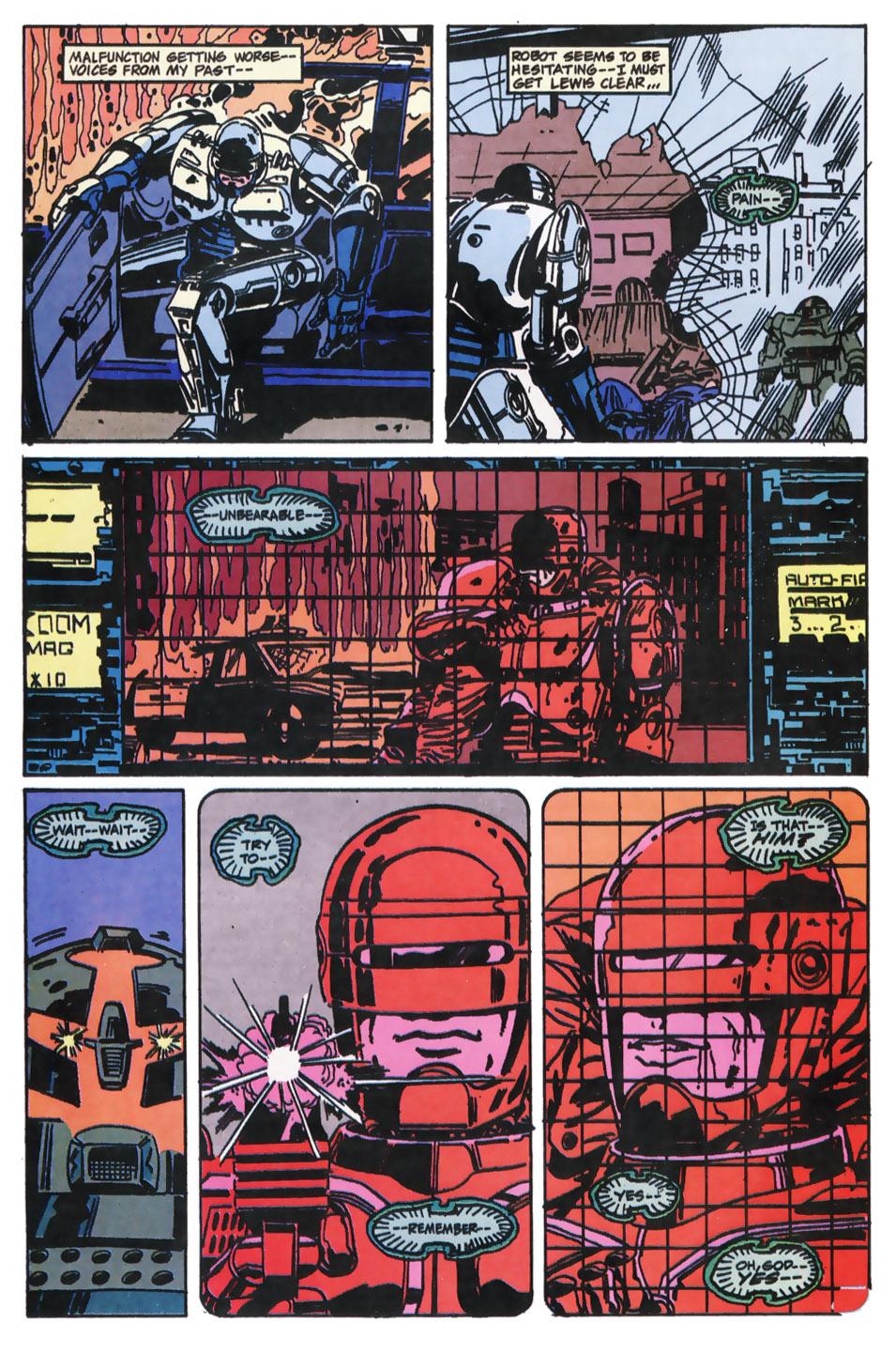 Read online Robocop (1990) comic -  Issue #11 - 16