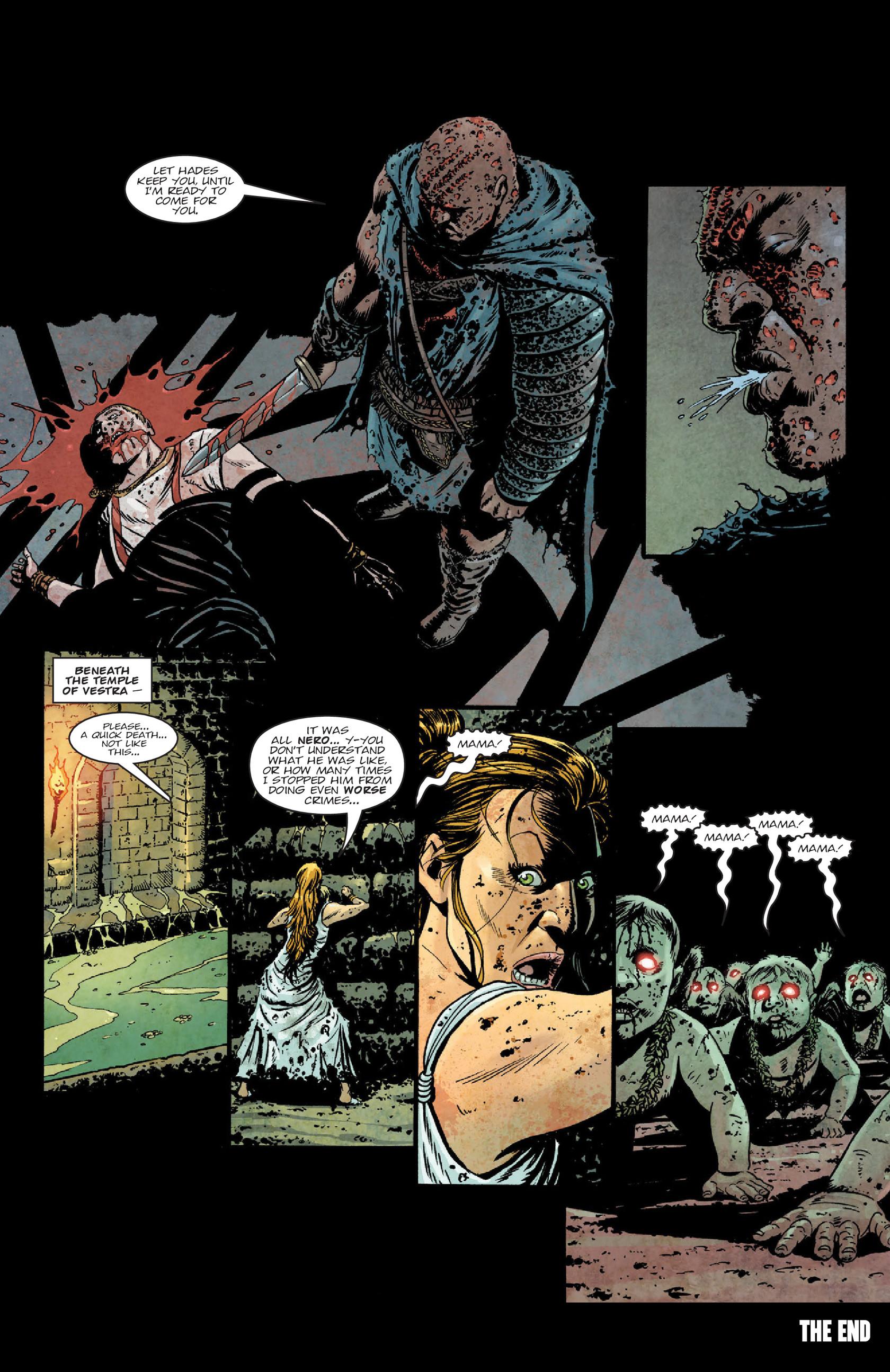 Read online Aquila comic -  Issue #5 - 27
