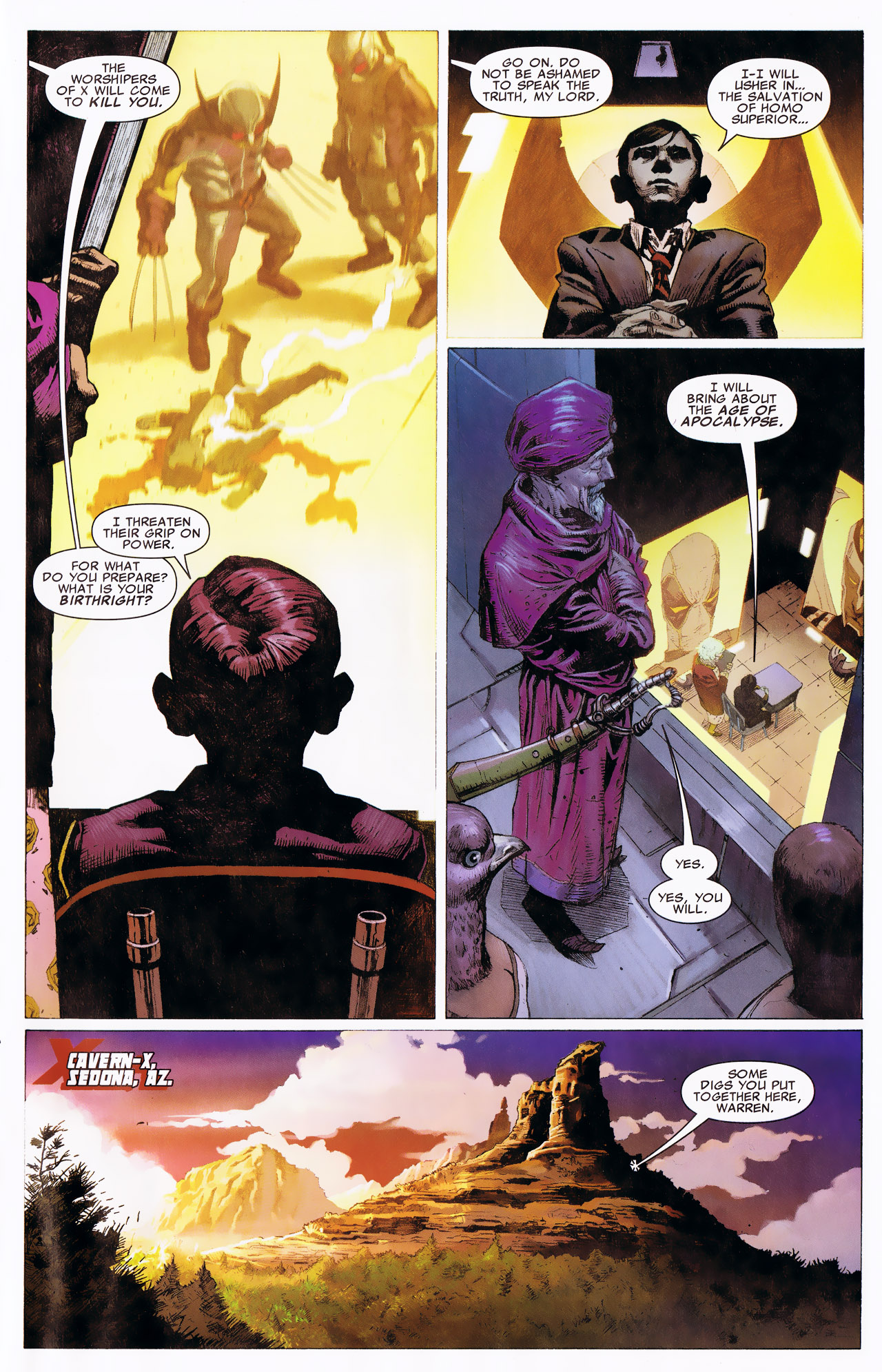 Read online Uncanny X-Force: The Apocalypse Solution comic -  Issue # Full - 35