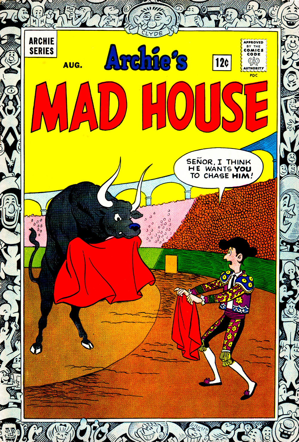 Archie's Madhouse issue 34 - Page 1
