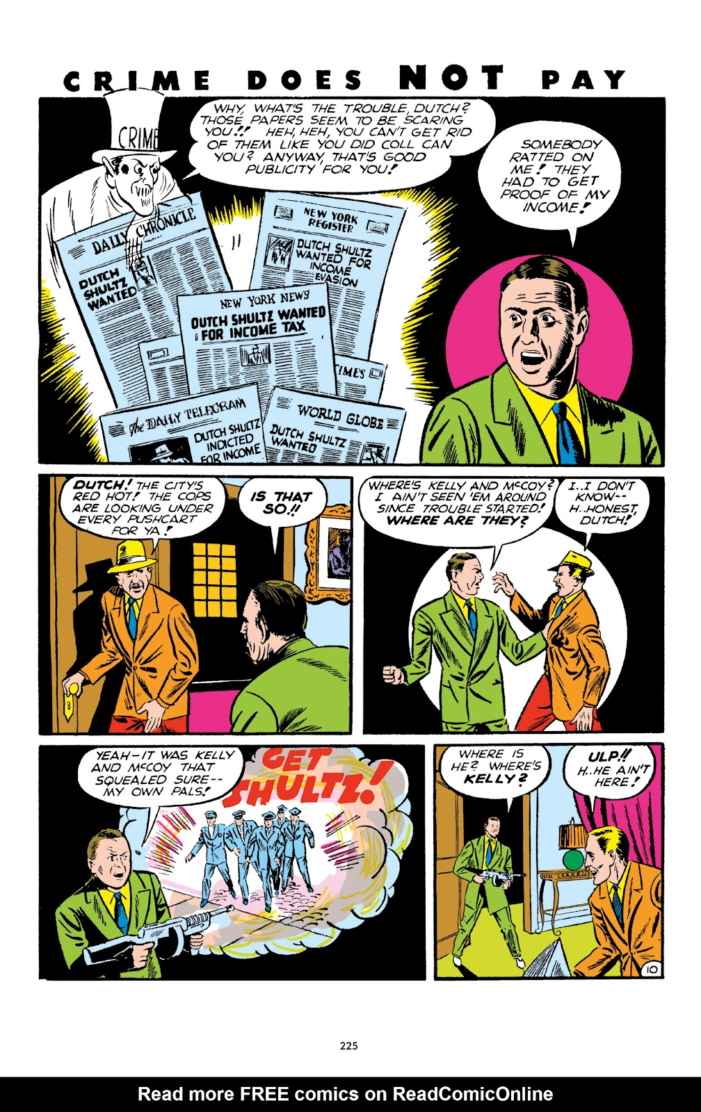 Read online Crime Does Not Pay Archives comic -  Issue # TPB 1 (Part 3) - 28