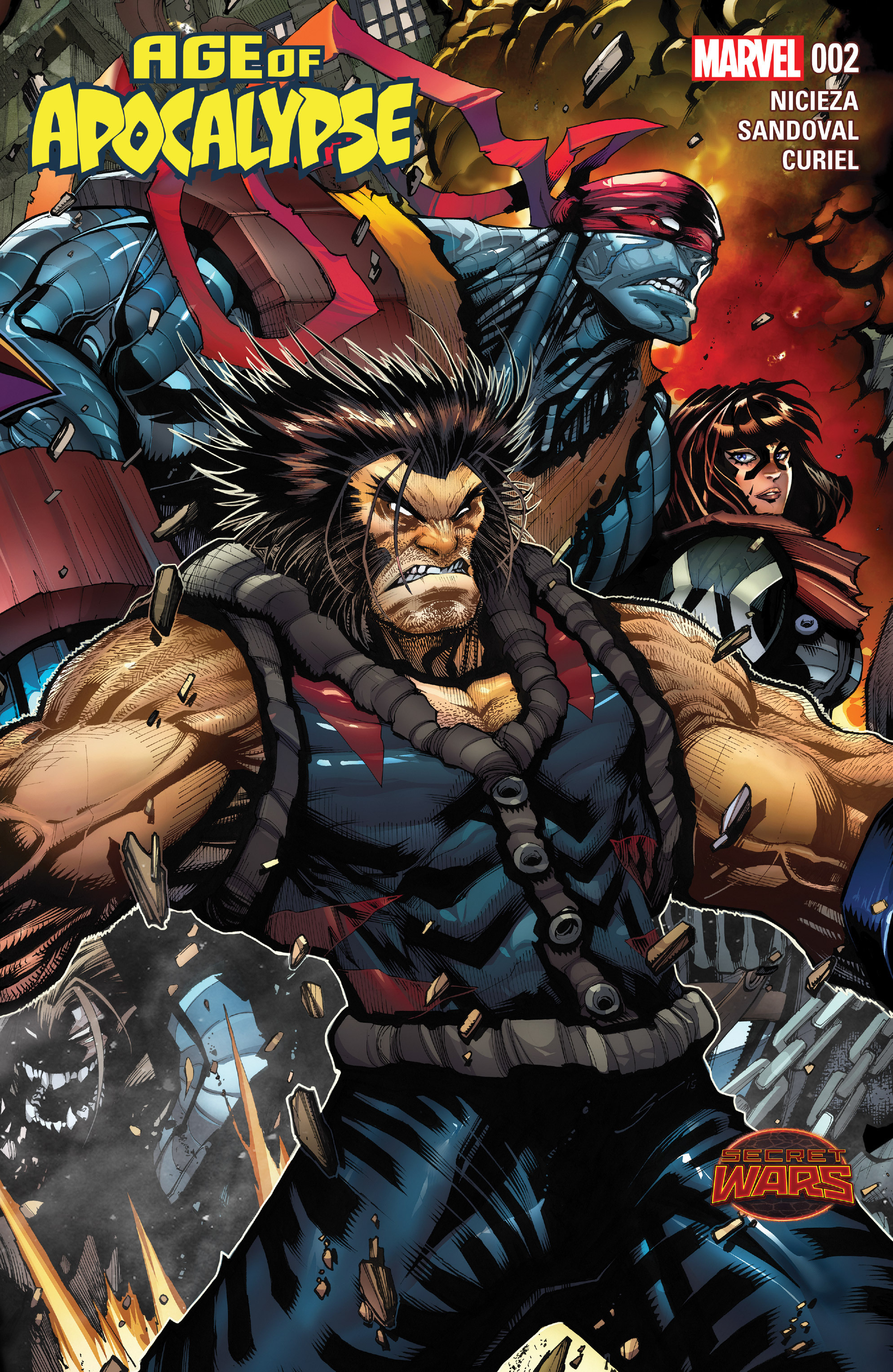 Read online Age of Apocalypse (2015) comic -  Issue #2 - 1