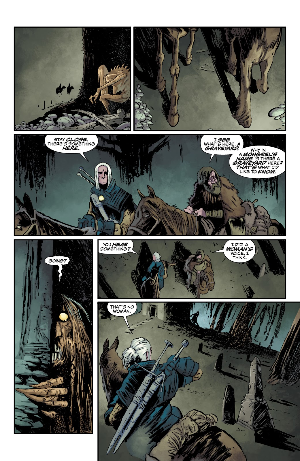 Read online The Witcher Omnibus comic -  Issue # TPB (Part 1) - 20